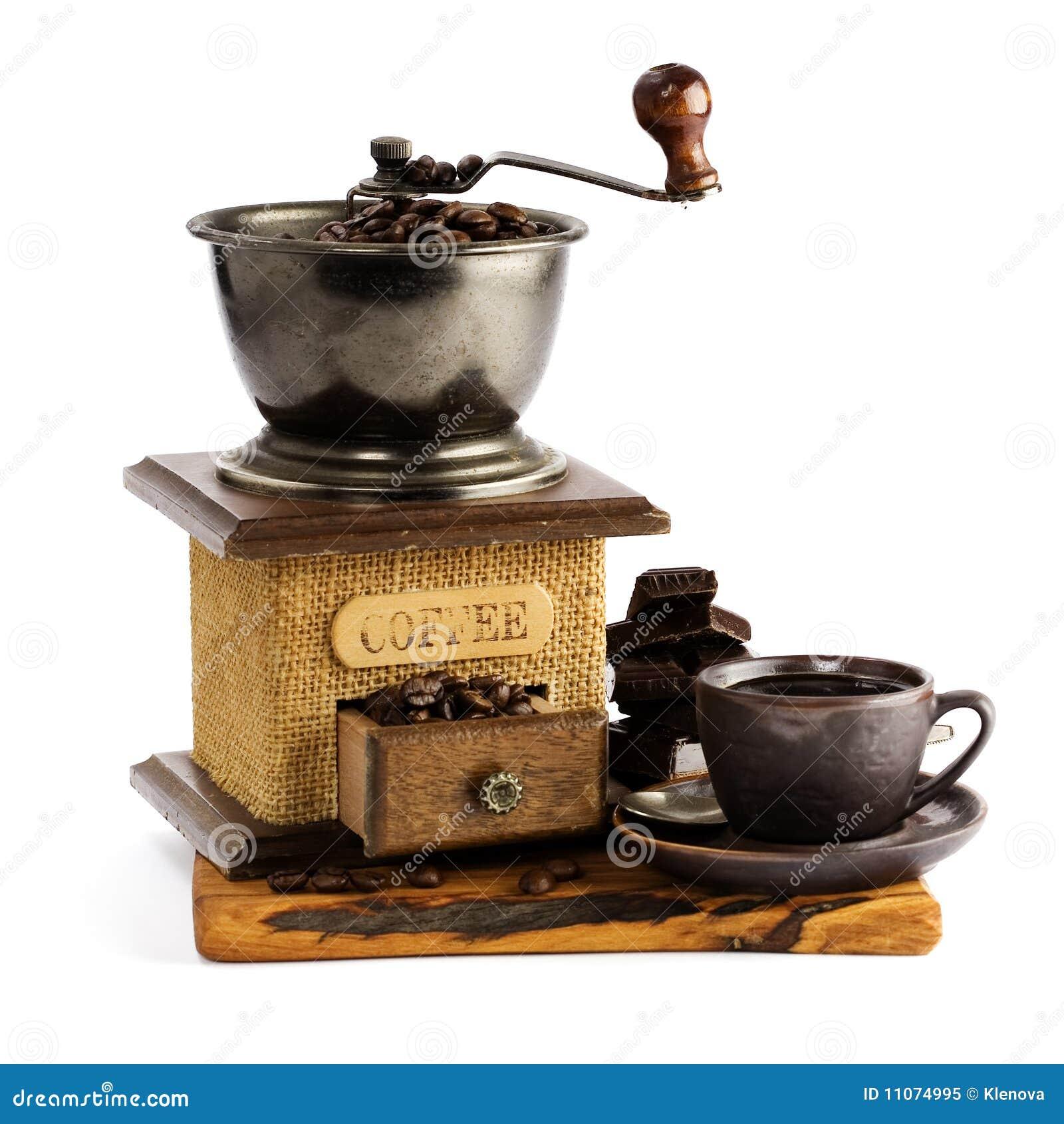 μύλος ζωής φλυτζανιών καφέ