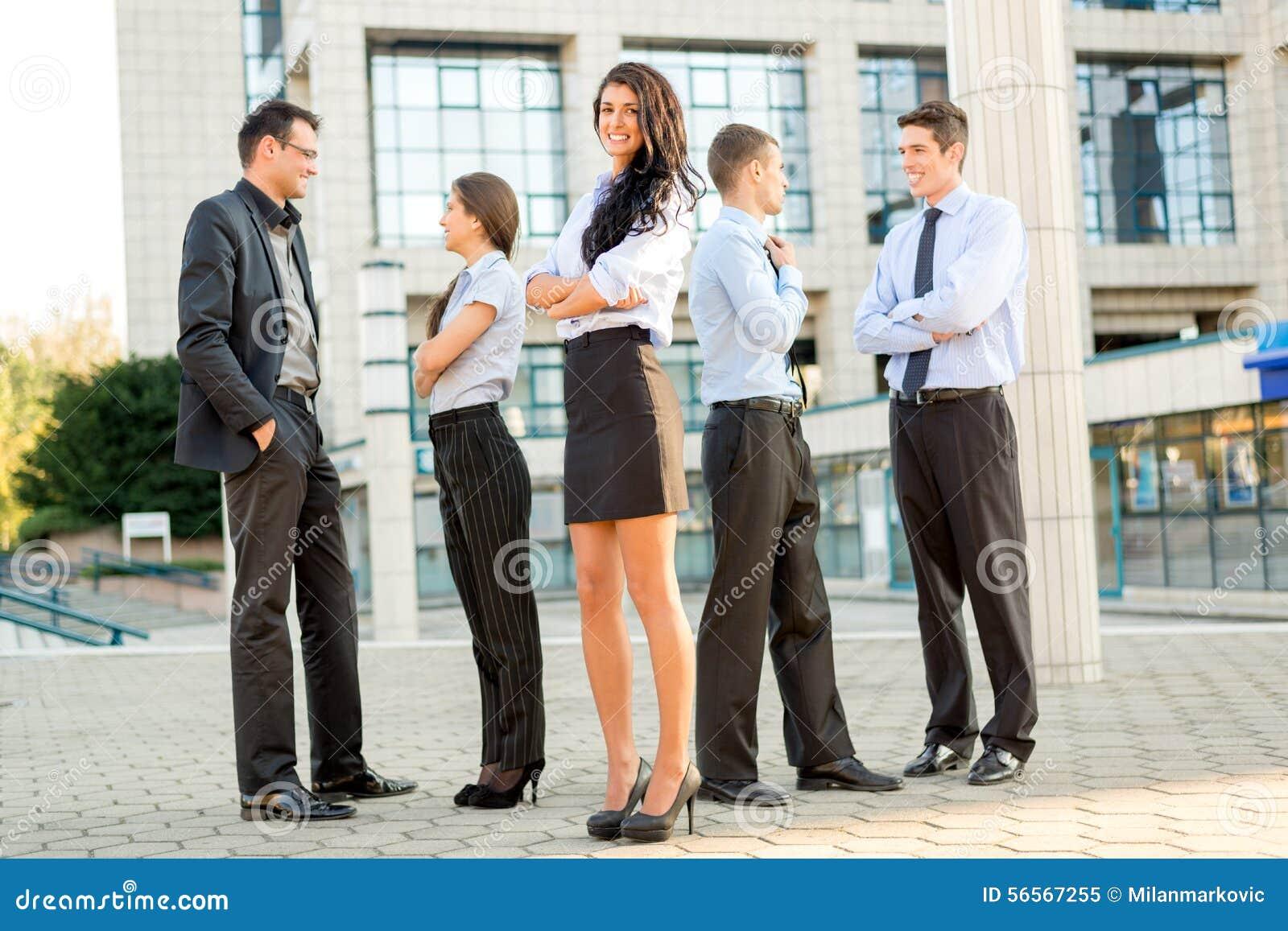 Download Νέα επιχειρησιακή ομάδα στοκ εικόνα. εικόνα από διευθυντής - 56567255