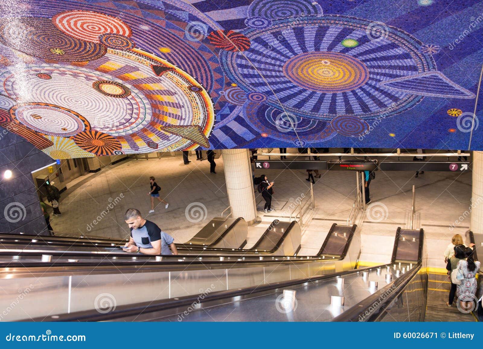νέος υπόγειος Υόρκη πόλε&om