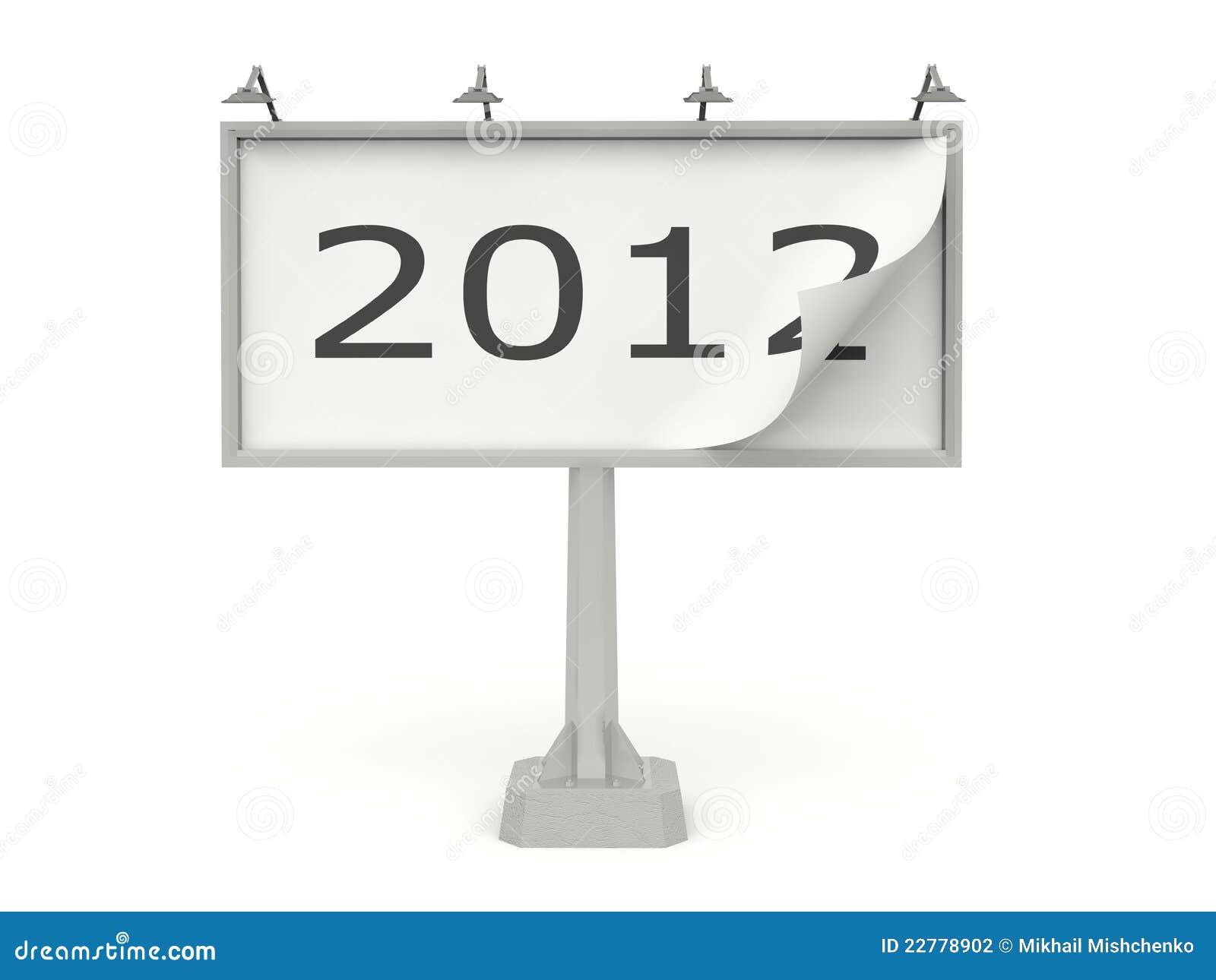 νέο έτος σημαδιών πινάκων δι&a