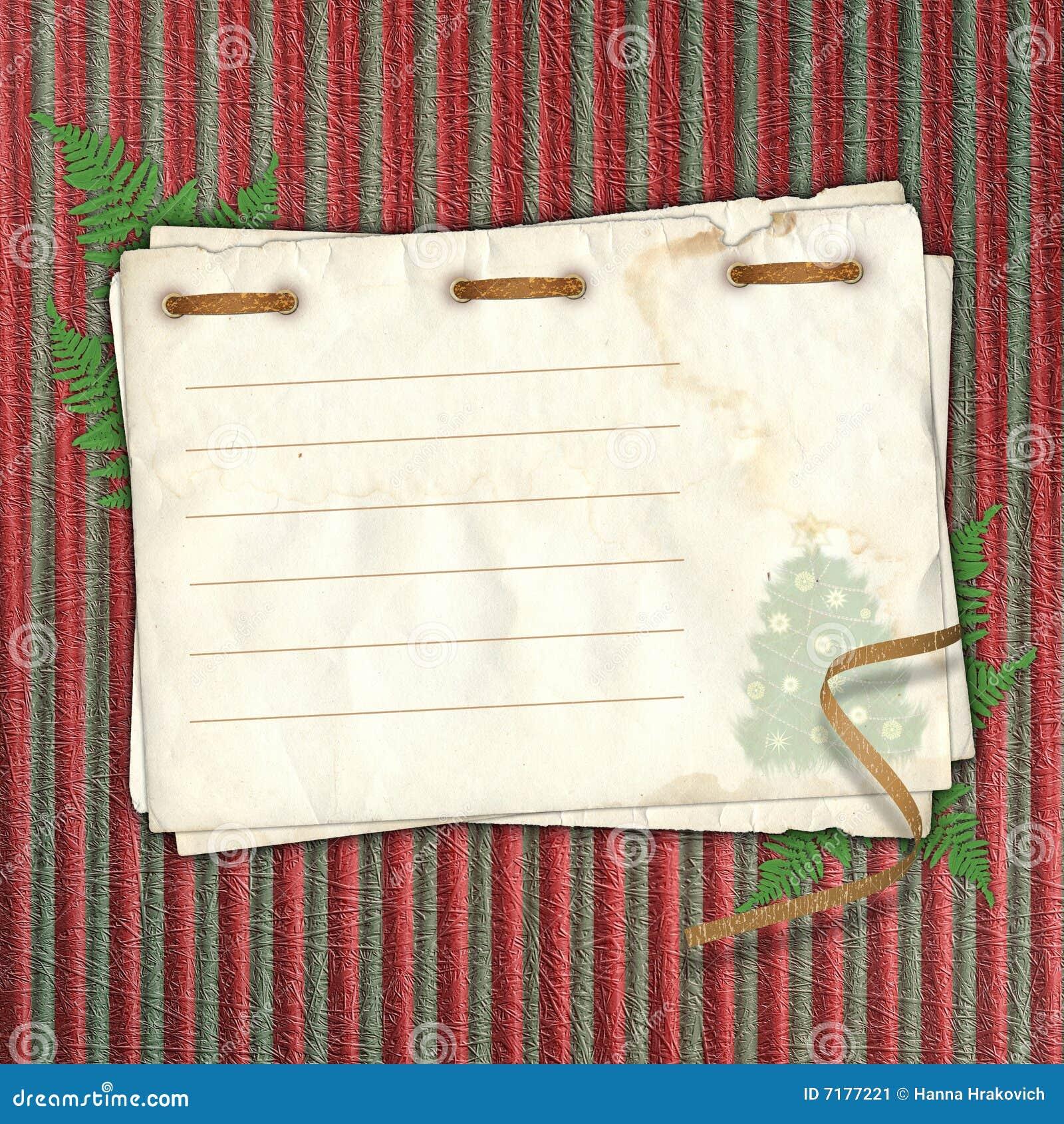 νέο παλαιό ταχυδρομικό s έτος καρτών