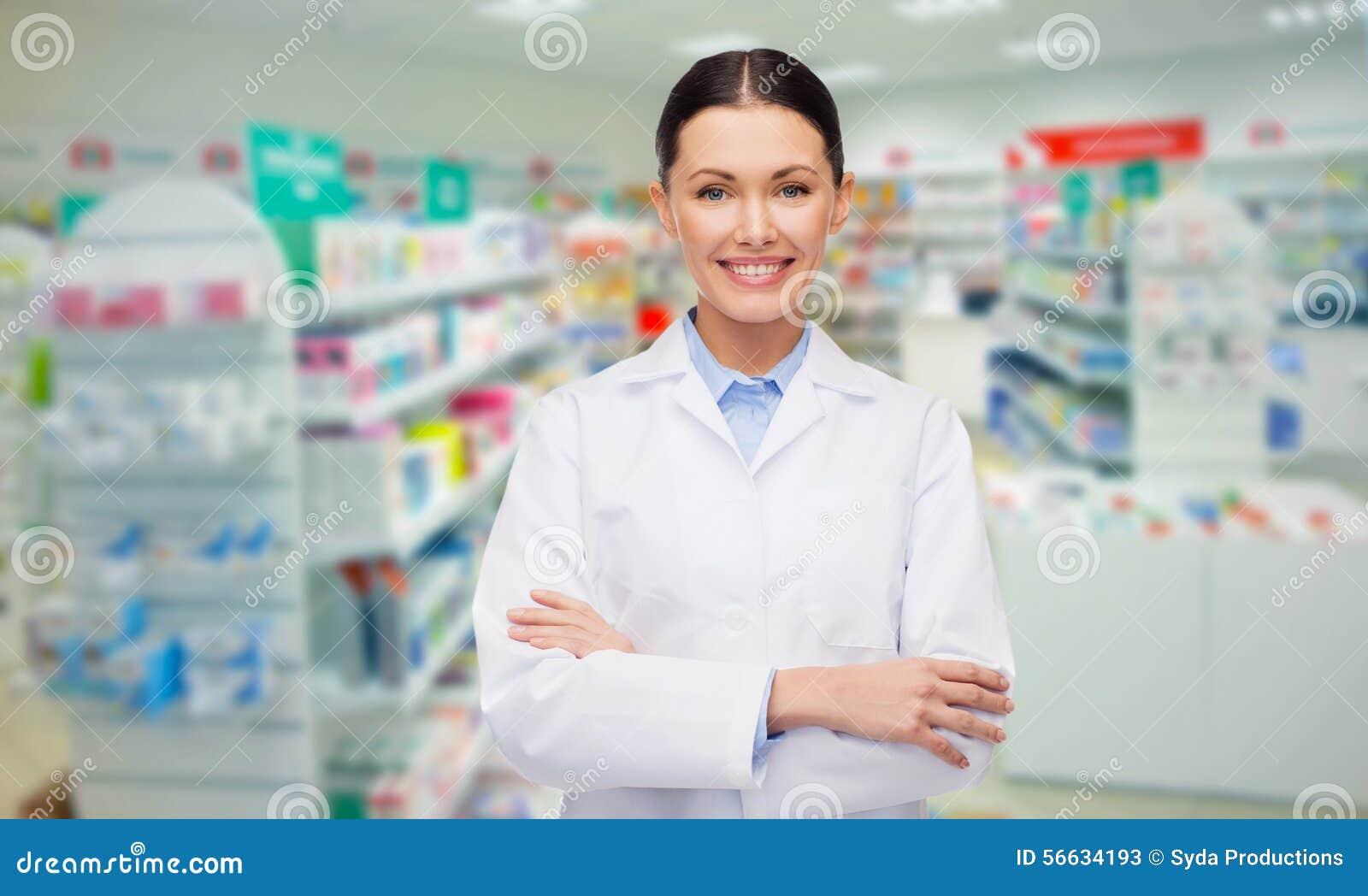 Νέο φαρμακείο ή φαρμακείο φαρμακοποιών γυναικών