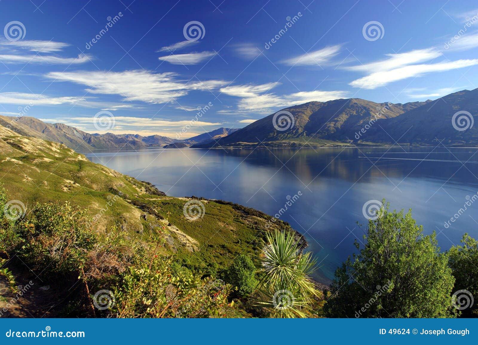 νέο wanaka Ζηλανδία λιμνών
