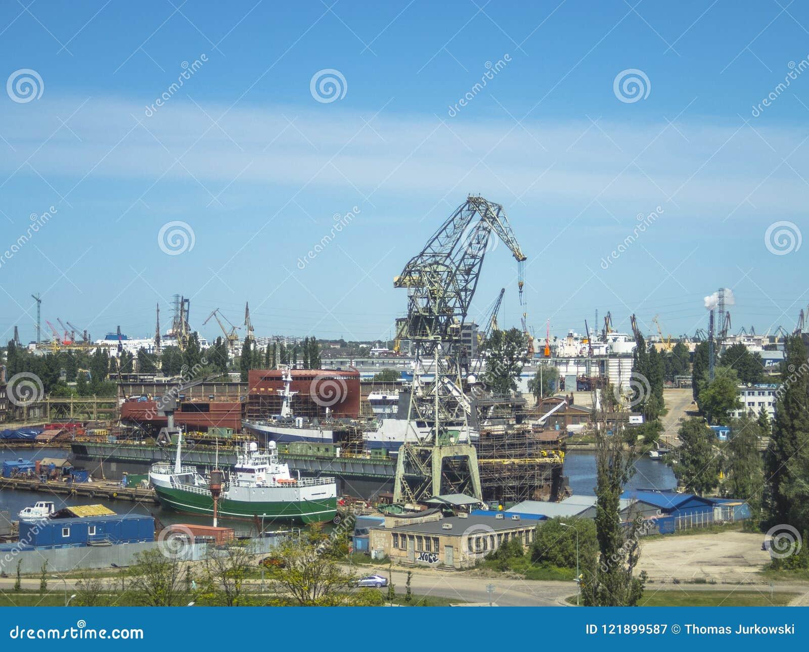 Ναυπηγείο του Γντανσκ, πανόραμα