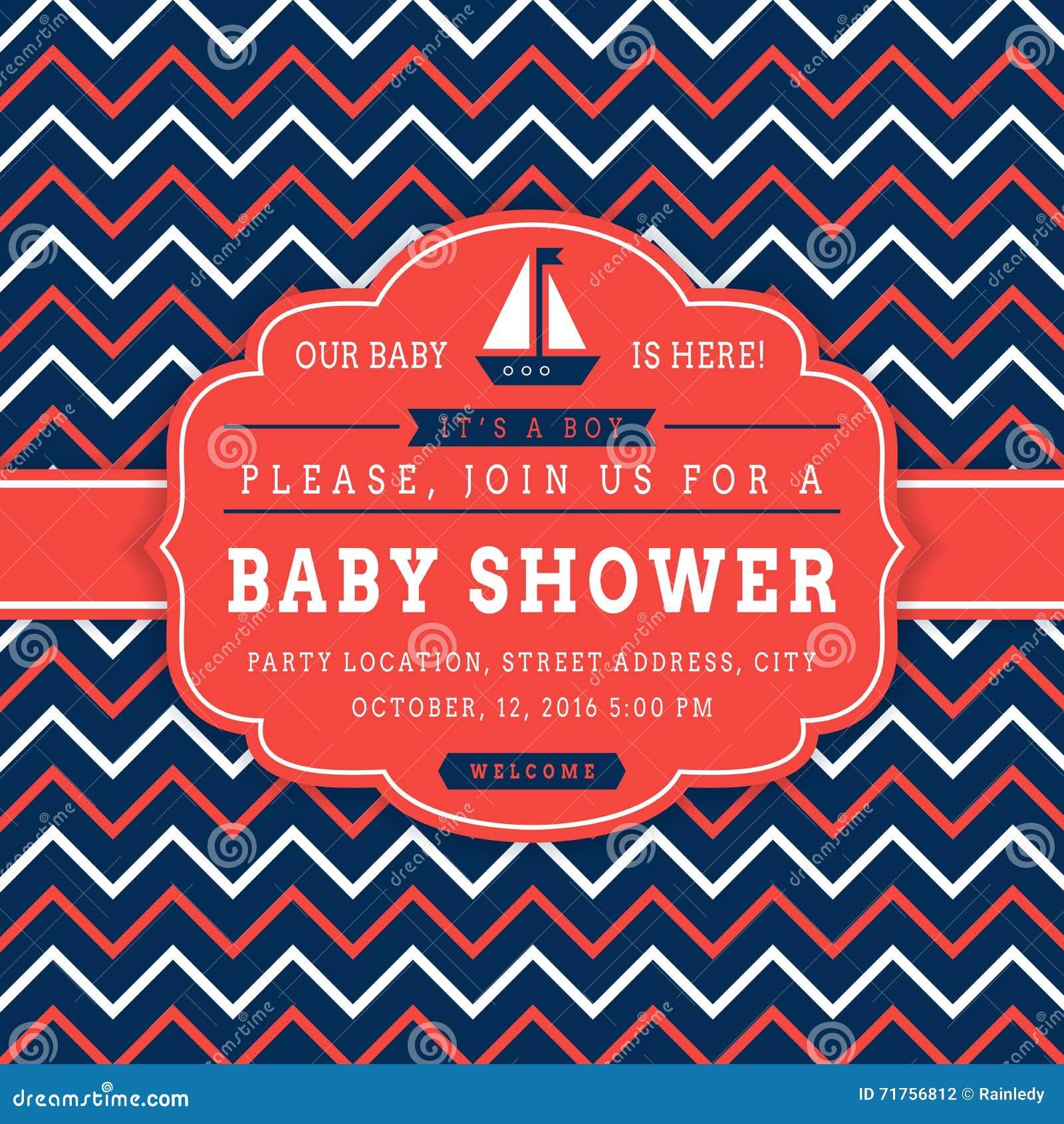 Ναυτική κάρτα ντους μωρών