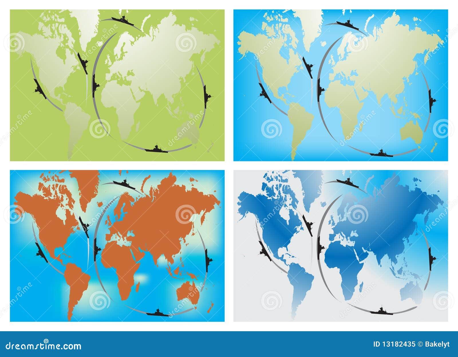 ναυτικός κόσμος διαδρομ