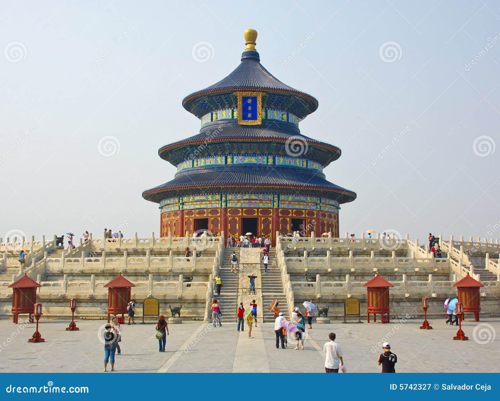 ναός ουρανού της Κίνας