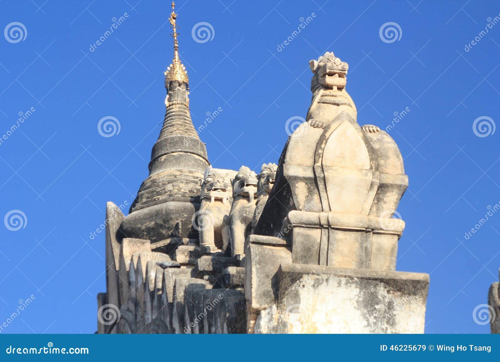 Ναός σε Bagan το Μιανμάρ