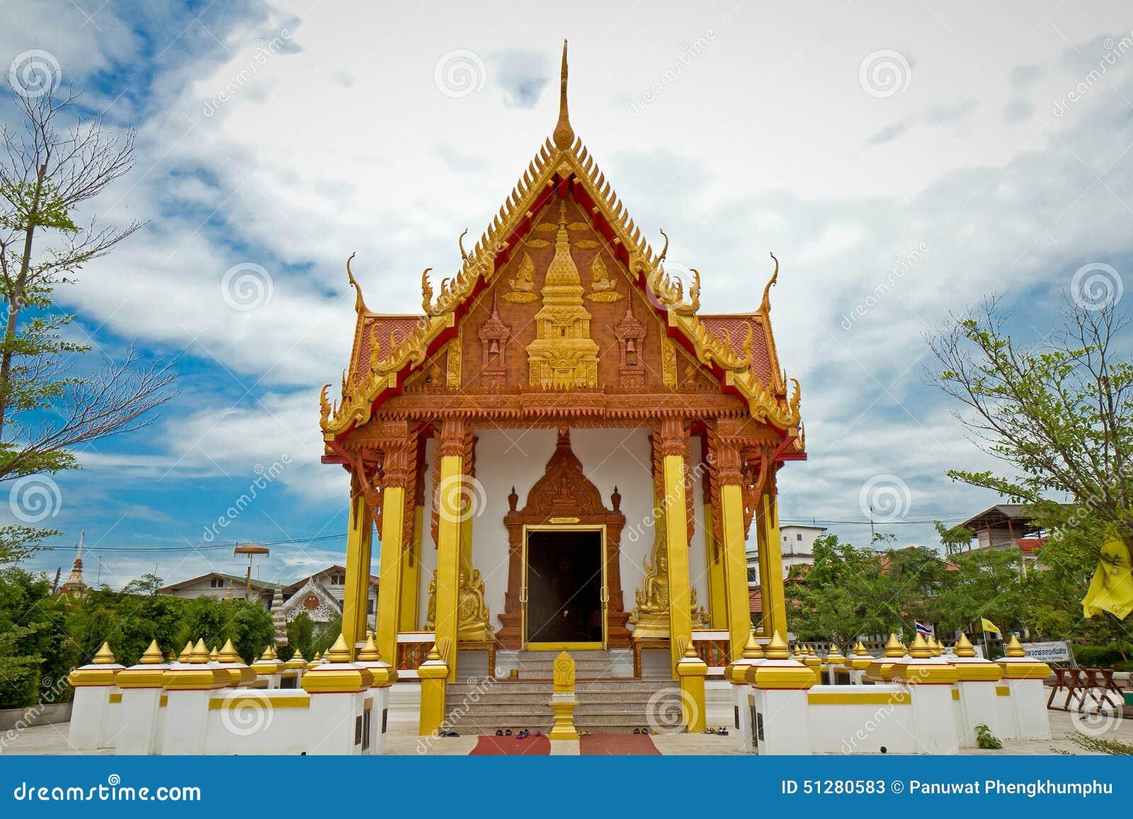 Ναός σε Renunakhon Nakhonphanom Ταϊλάνδη