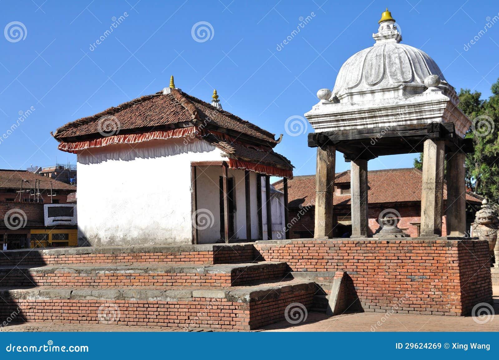 Ναός στην πλατεία Bhaktapur Durbar
