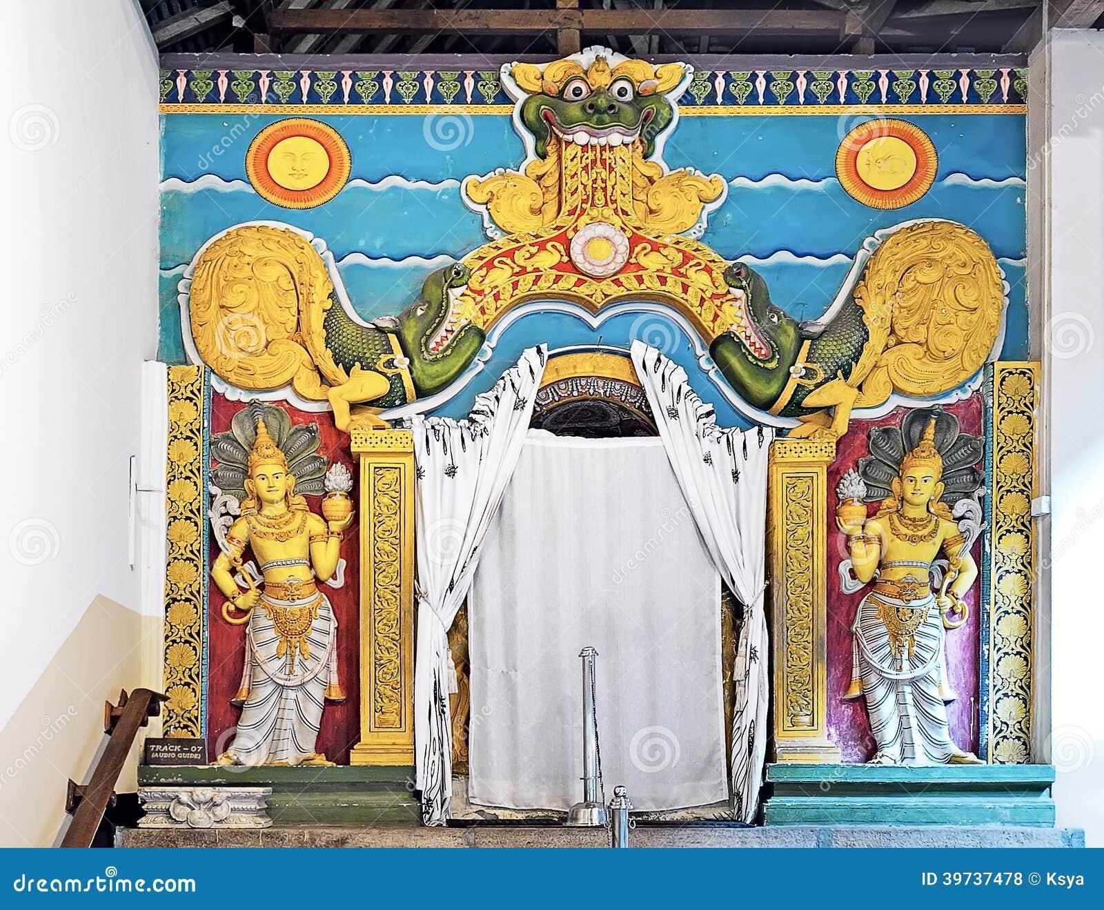 Ναός του τεμαχίου δοντιών (Sri Dalada Maligawa) σε Kandy, Σρι Λάνκα
