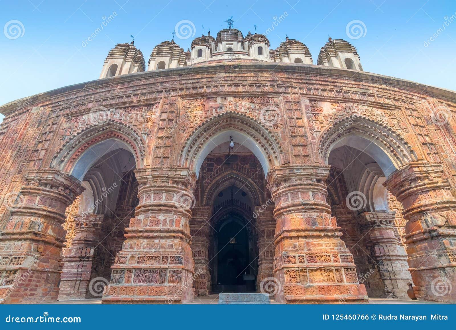 Ναός Chandra Krishna Kalna, δυτική Βεγγάλη, Ινδία