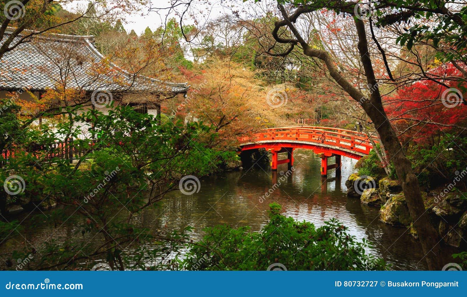 Ναός Daigoji, φθινόπωρο στο Κιότο
