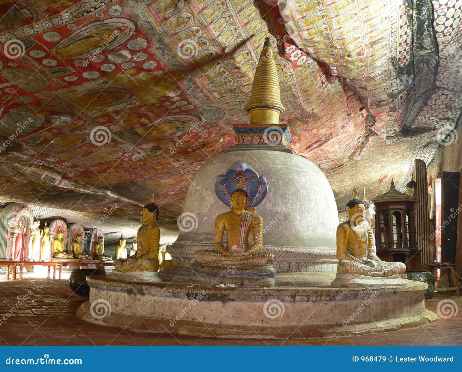 ναός dambulla