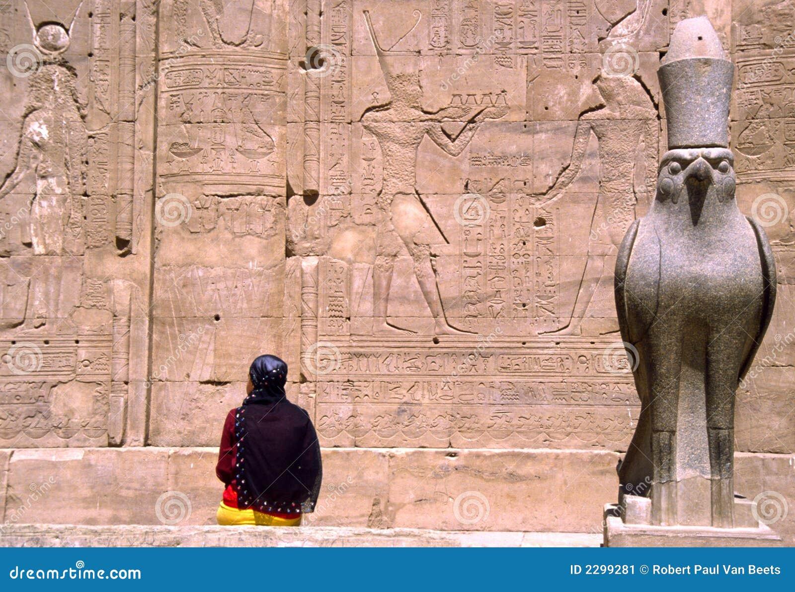 ναός horus της Αιγύπτου edfu
