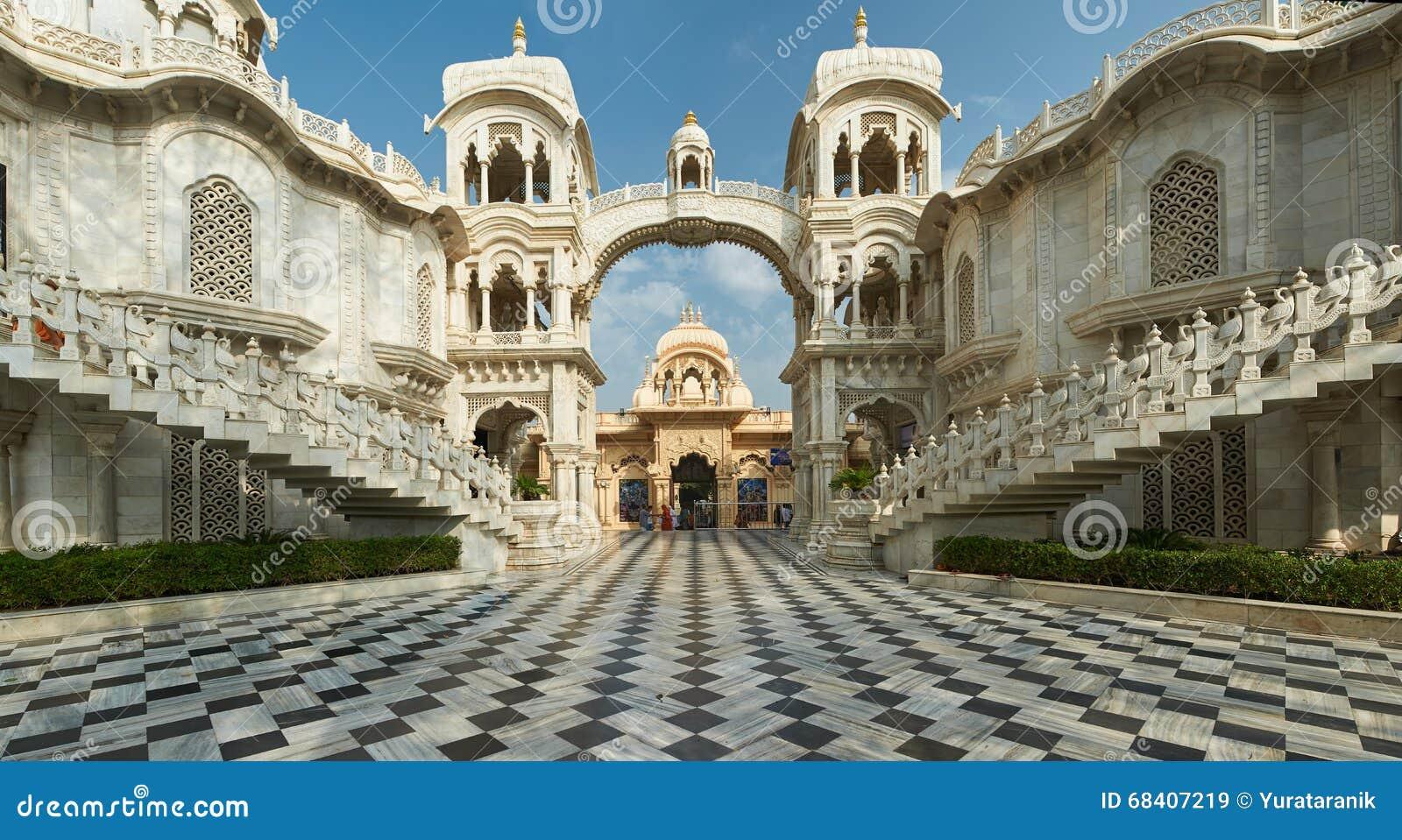 Ναός ISKCON Krishna Balaram Vrindavan, Ούτα Πράτες, Ινδία
