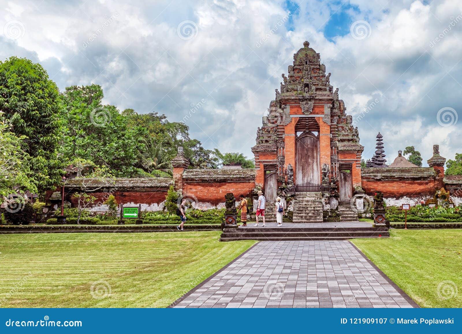 Ναός Taman Ayun Pura στο Μπαλί, Ινδονησία