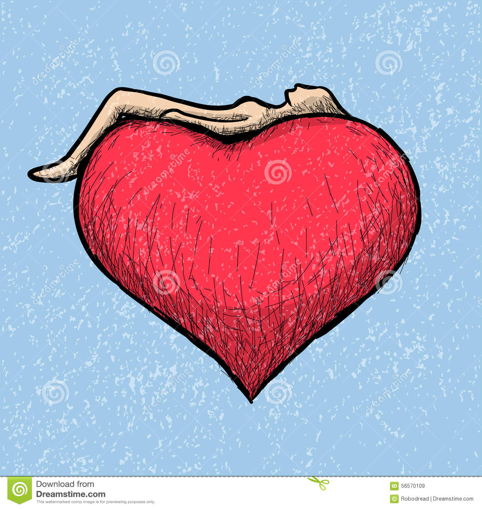 Download Να βρεθεί επάνω από την καρδιά Διανυσματική απεικόνιση - εικονογραφία από έννοια, ελεύθερος: 56570109
