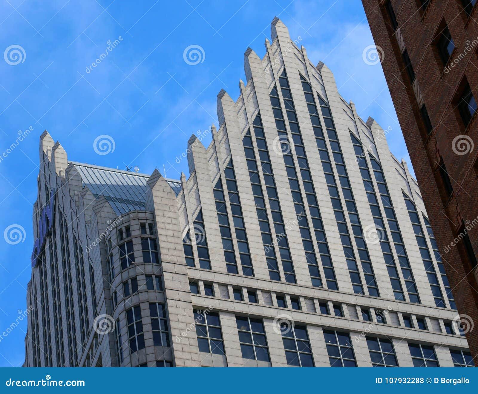 Να ενσωματώσει τη στο κέντρο της πόλης κλασσική αρχιτεκτονική του Ντιτρόιτ