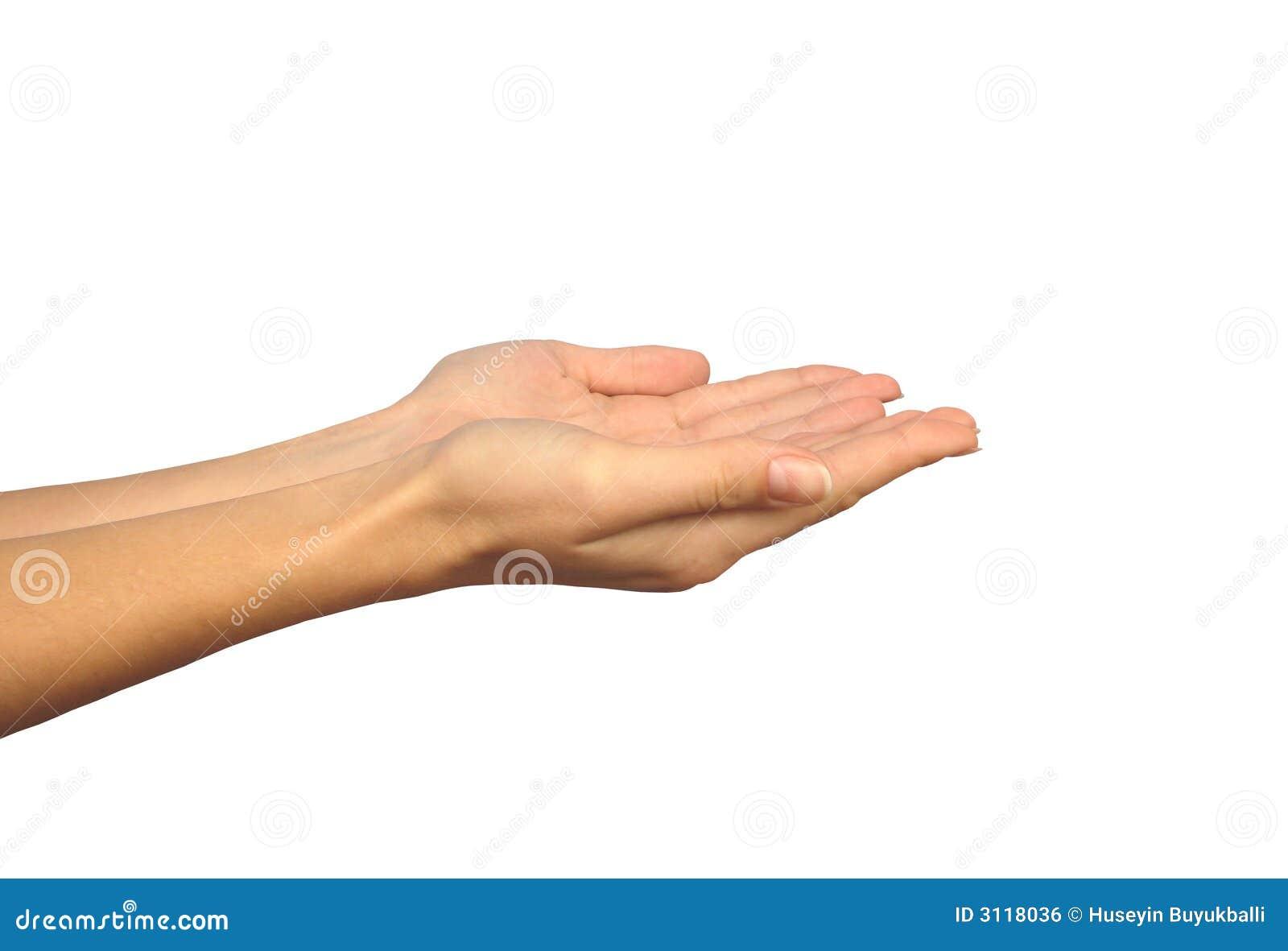 να ικετεύσει τα χέρια