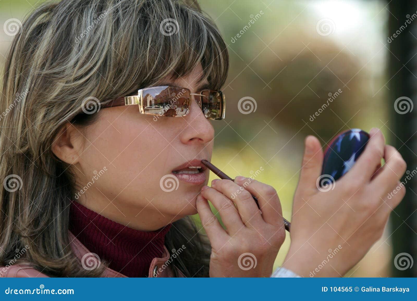 να ισχύσει makeup