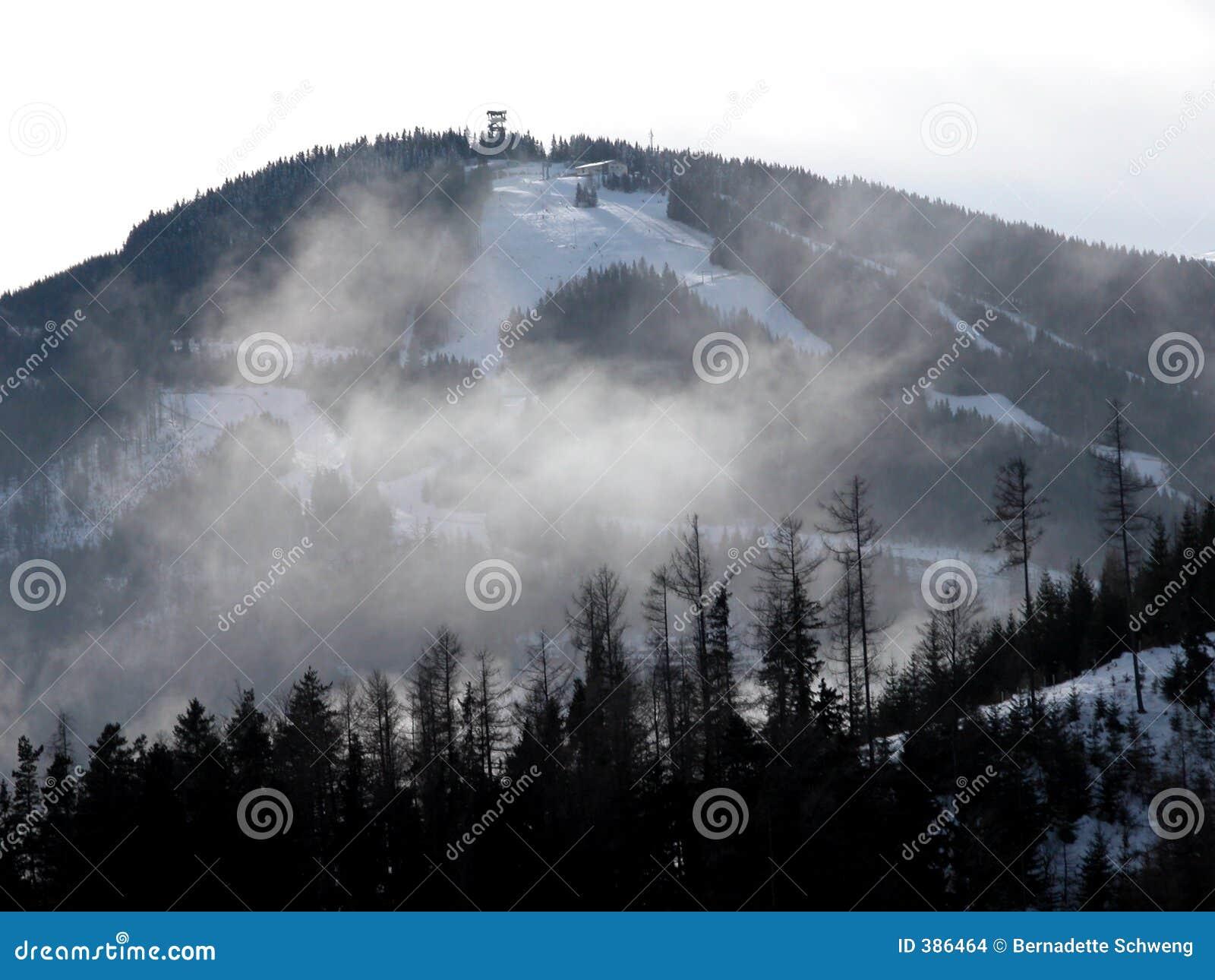 να κάνει σκι ημέρας ηλιόλουστο