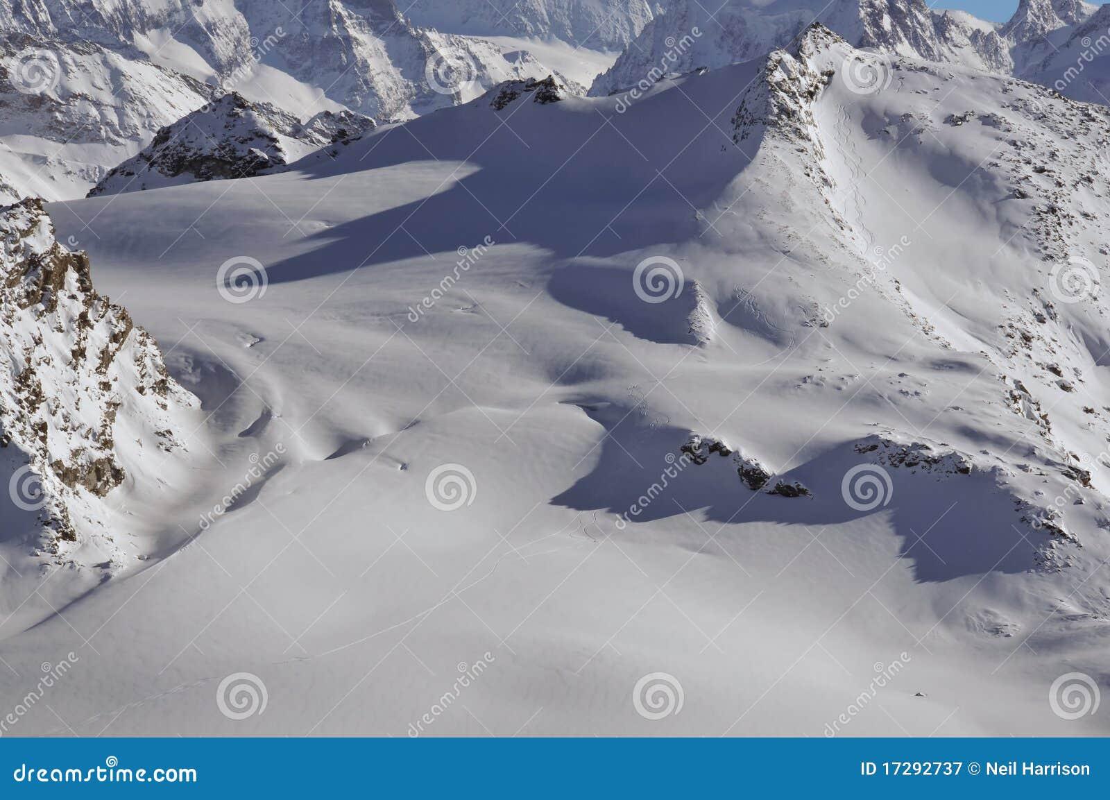 να κάνει σκι παγετώνων