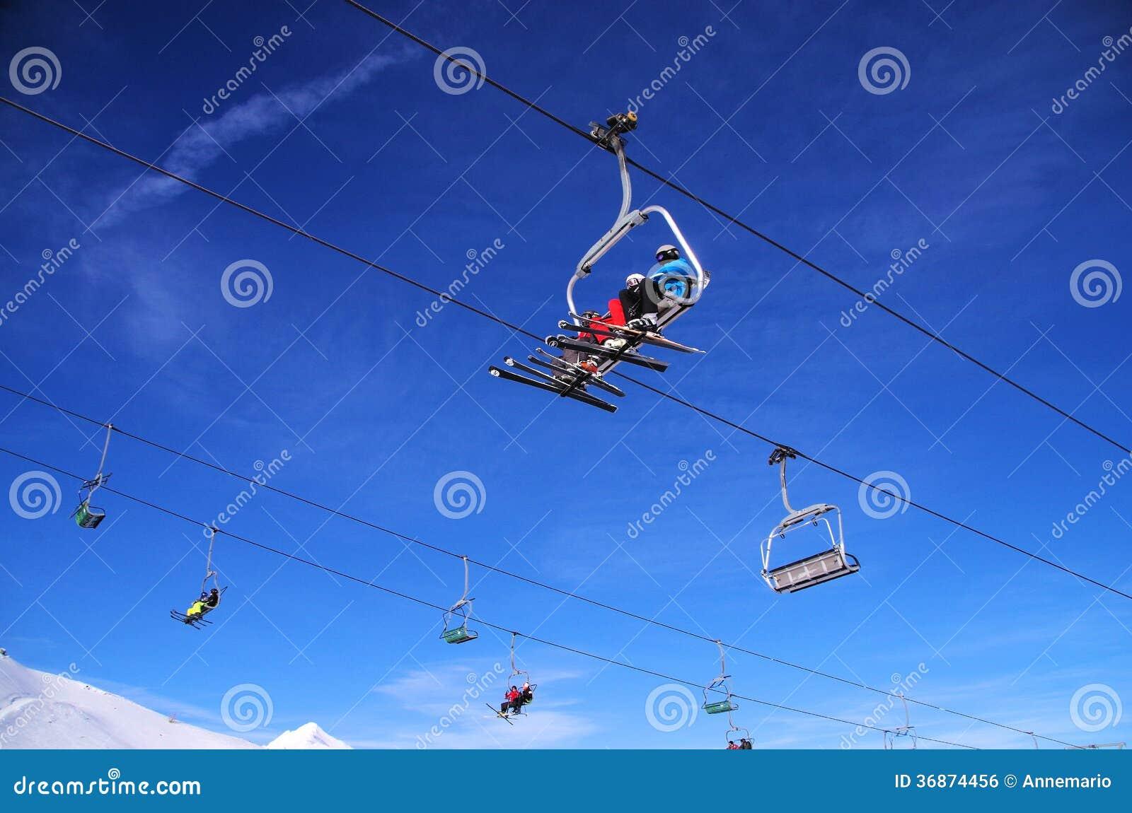 Να κάνει σκι στο Λα Thuile Ιταλία