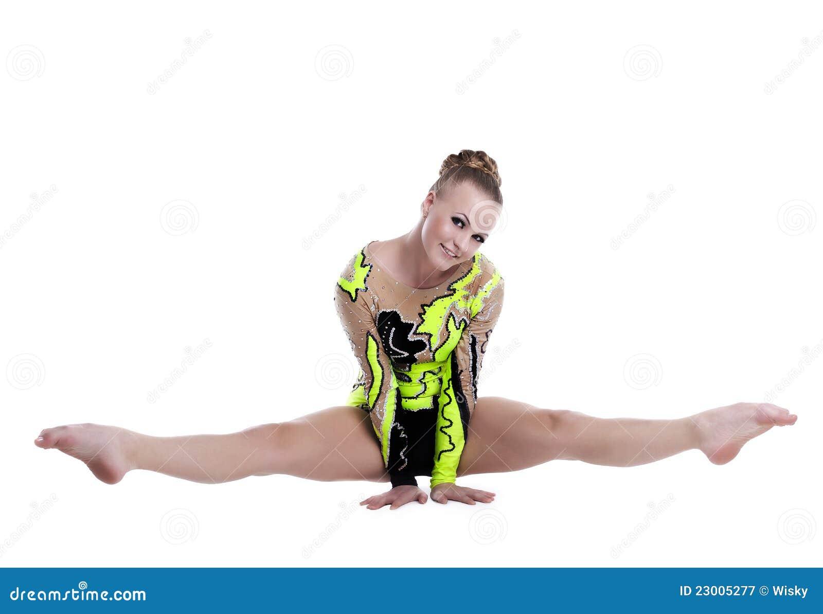 να κάνει gymnast απομόνωσε τις επαγγελματικές νεολαίες διασπάσεων