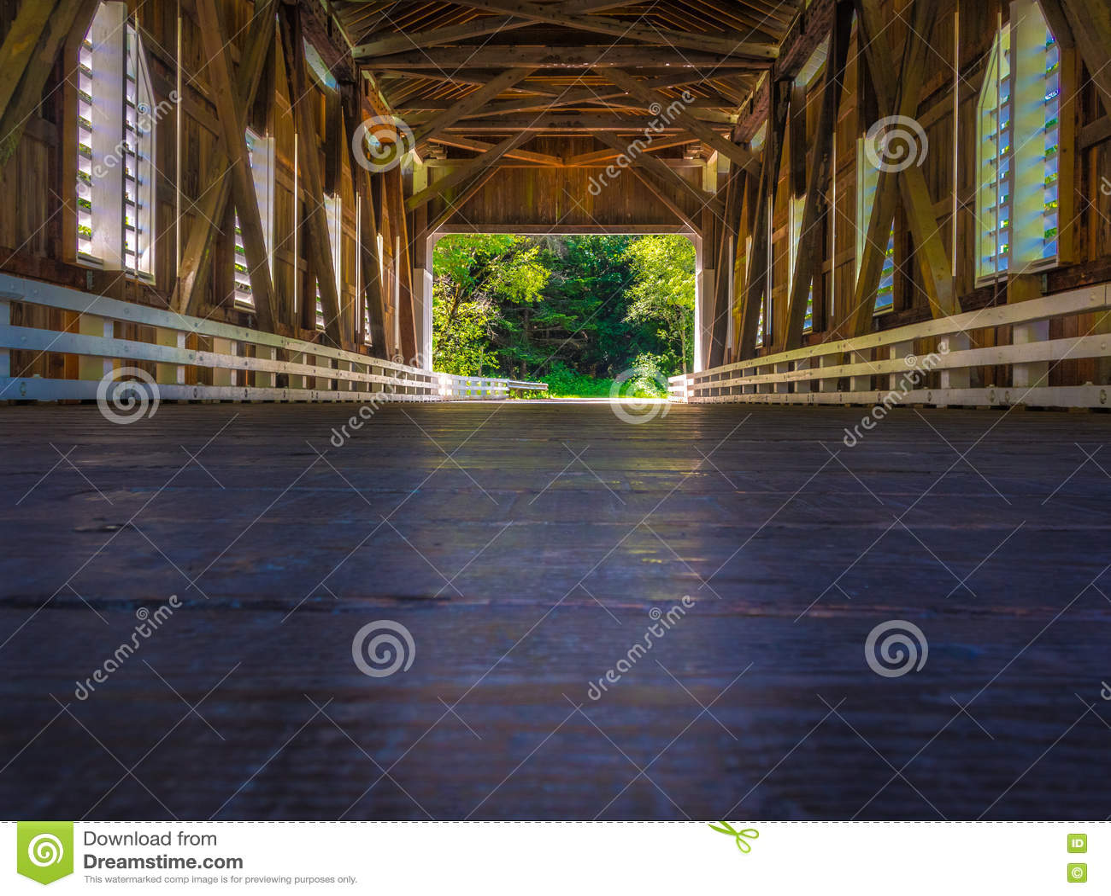 Να φανεί έξω η γέφυρα Dorena