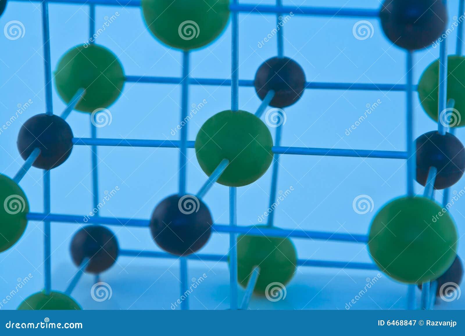 ΝαCl μορίων λεπτομέρειας