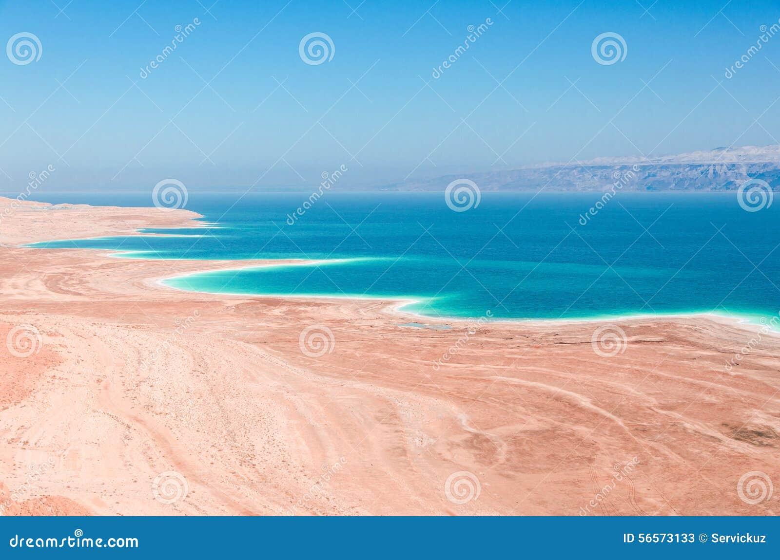 Download Νεκρή ακτή θάλασσας στο ακατοίκητο εξωγήινο τοπίο ερήμων Στοκ Εικόνα - εικόνα από παλαιστίνη, εγκαταλειμμένος: 56573133