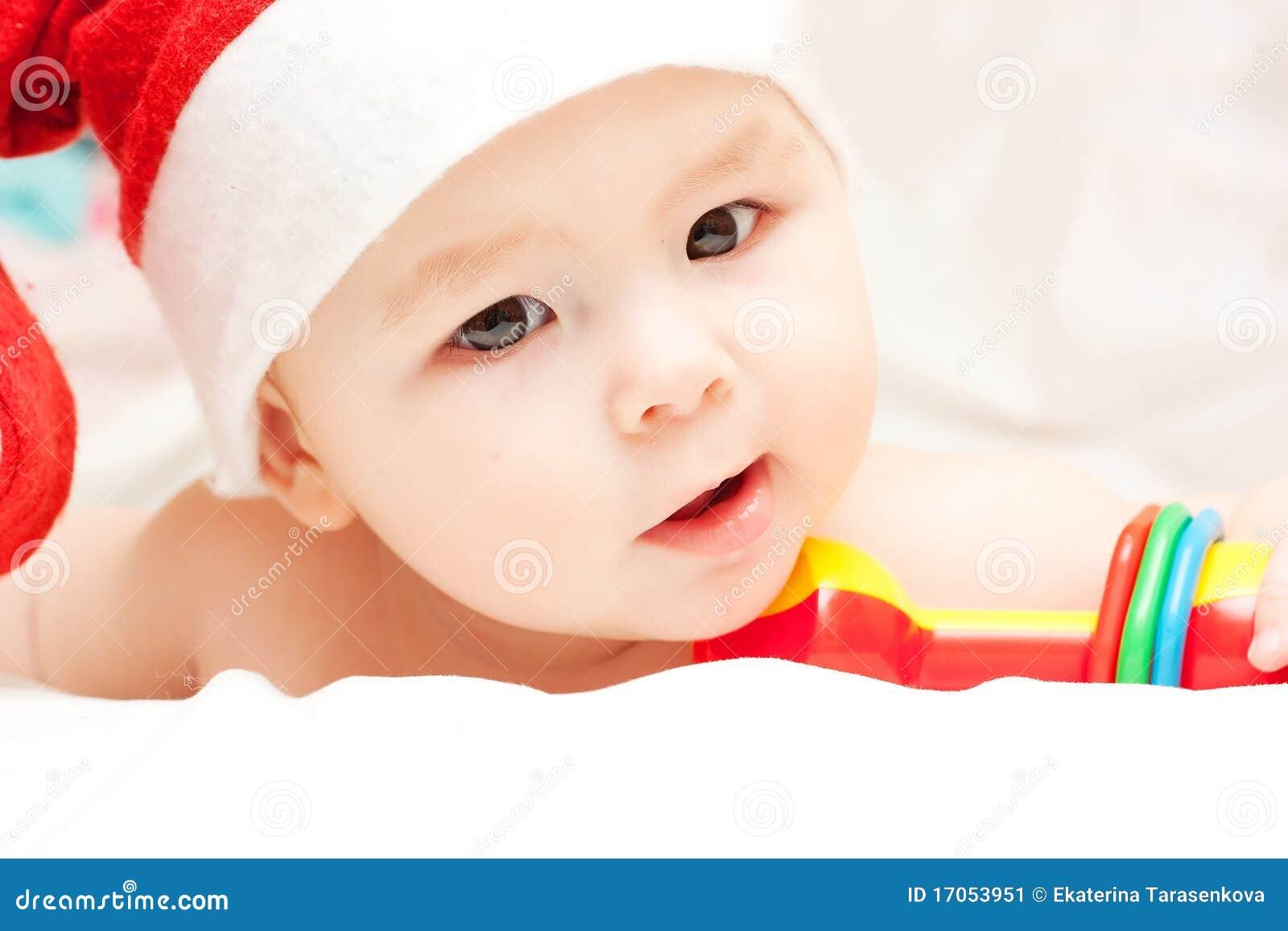 νεογέννητο santa καπέλων Claus μωρών