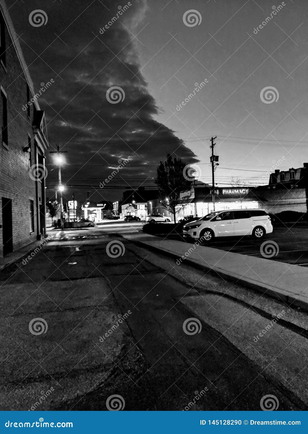 Νεφελώδες βράδυ στο Πίτσμπουργκ