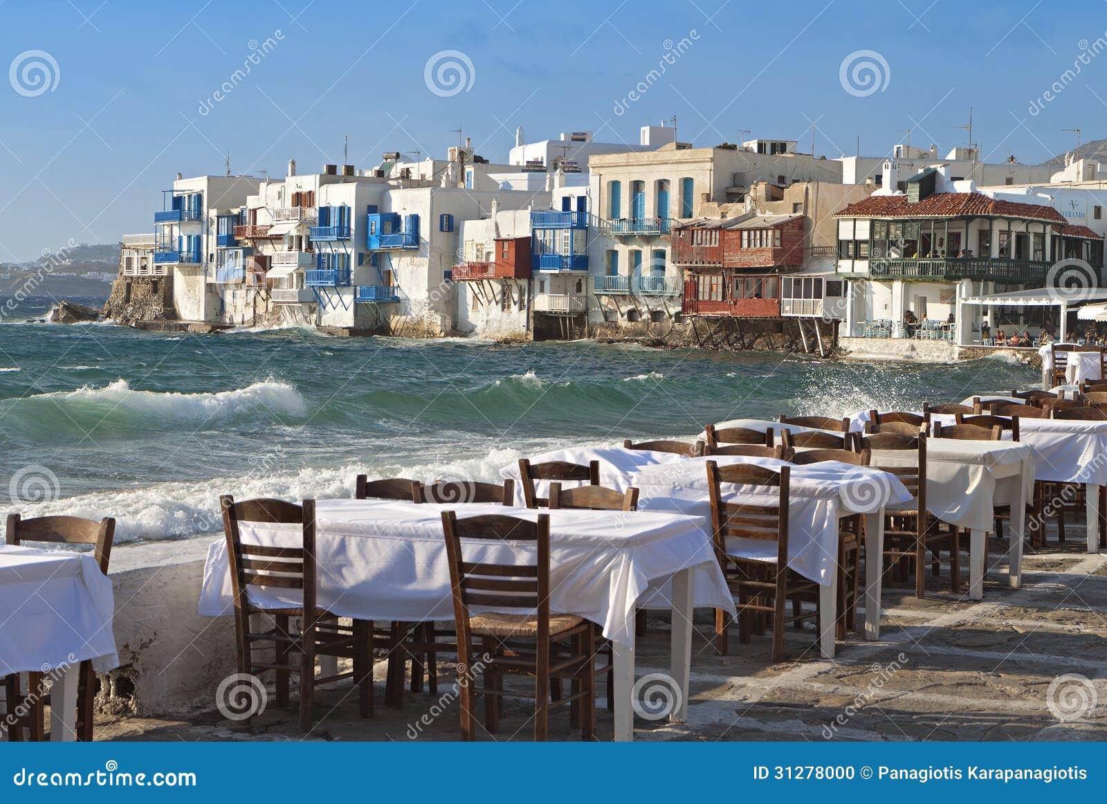 Νησί της Μυκόνου στην Ελλάδα