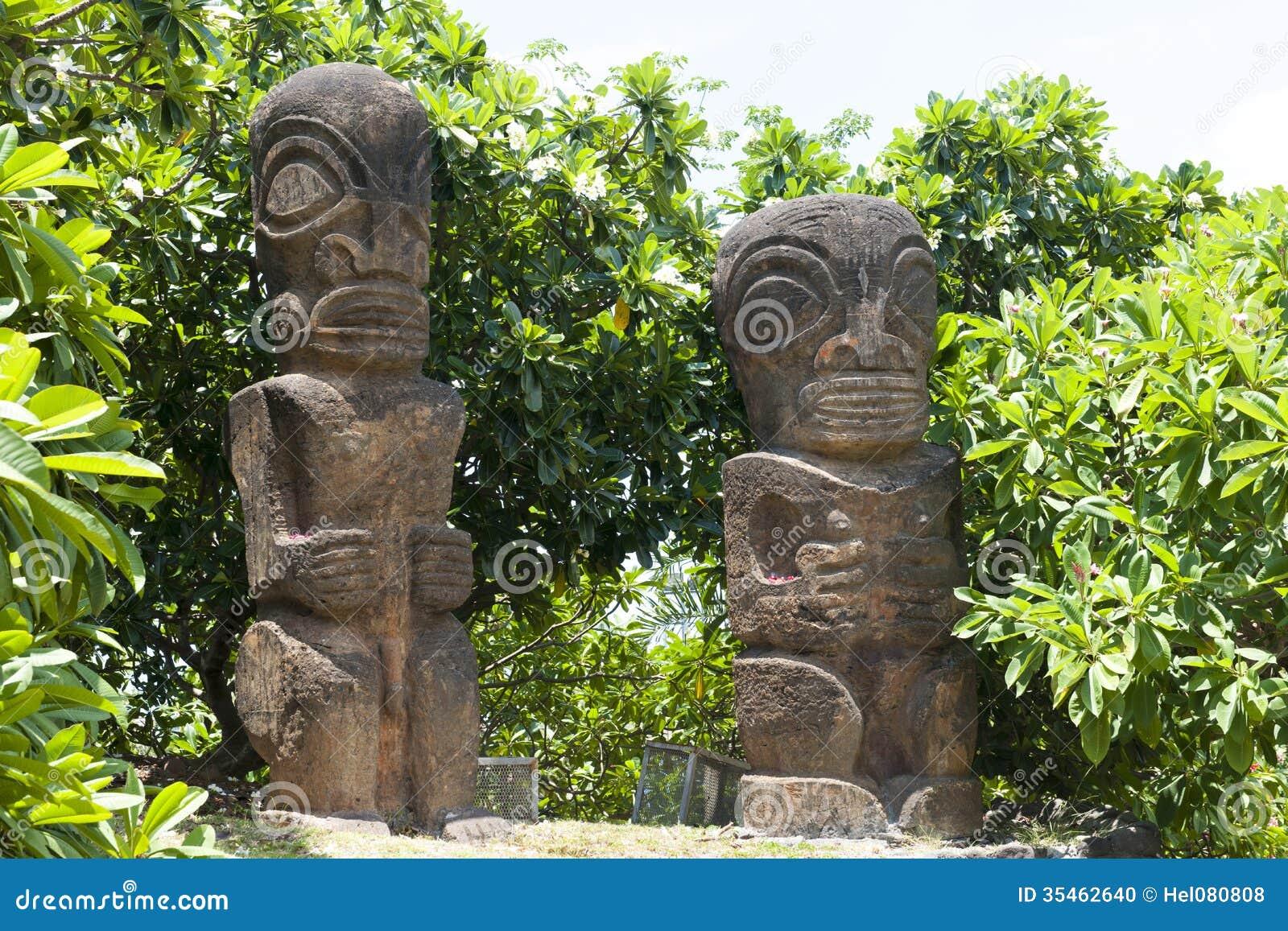 Νησί της Ταϊτή αγαλμάτων