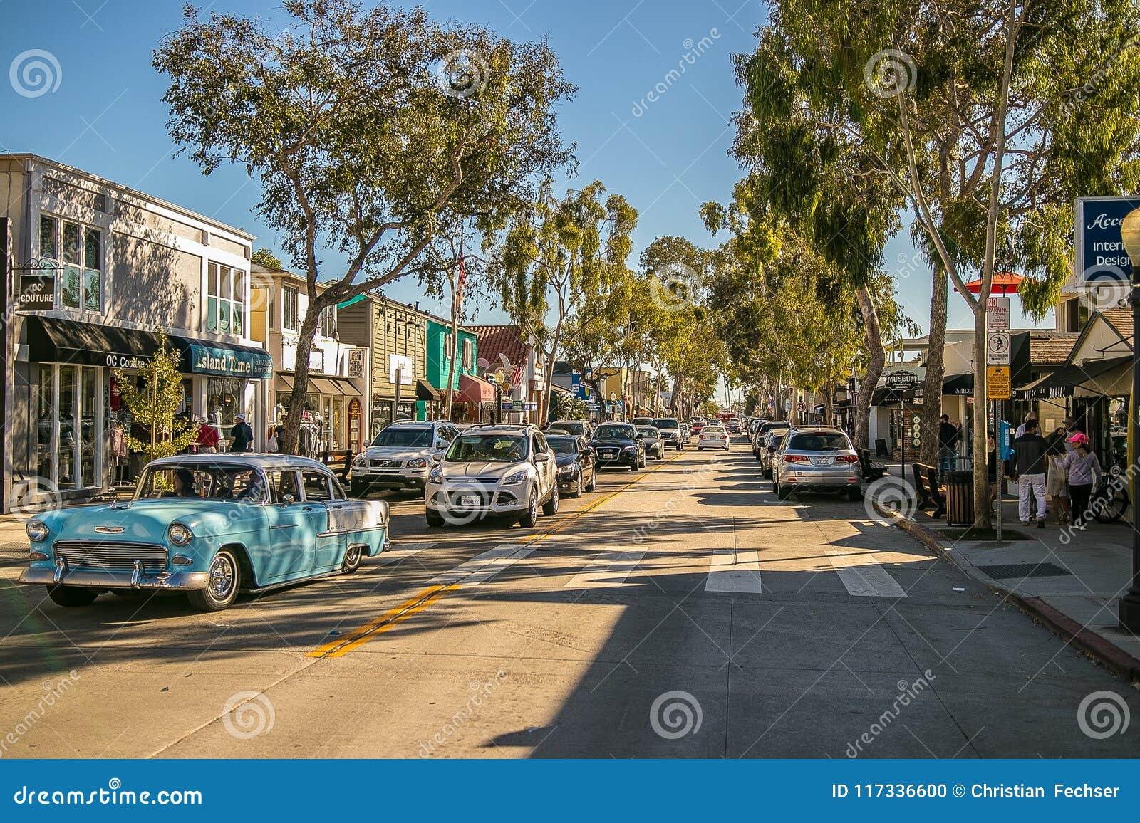 Νησί BALBOA, Newport Beach, ασβέστιο