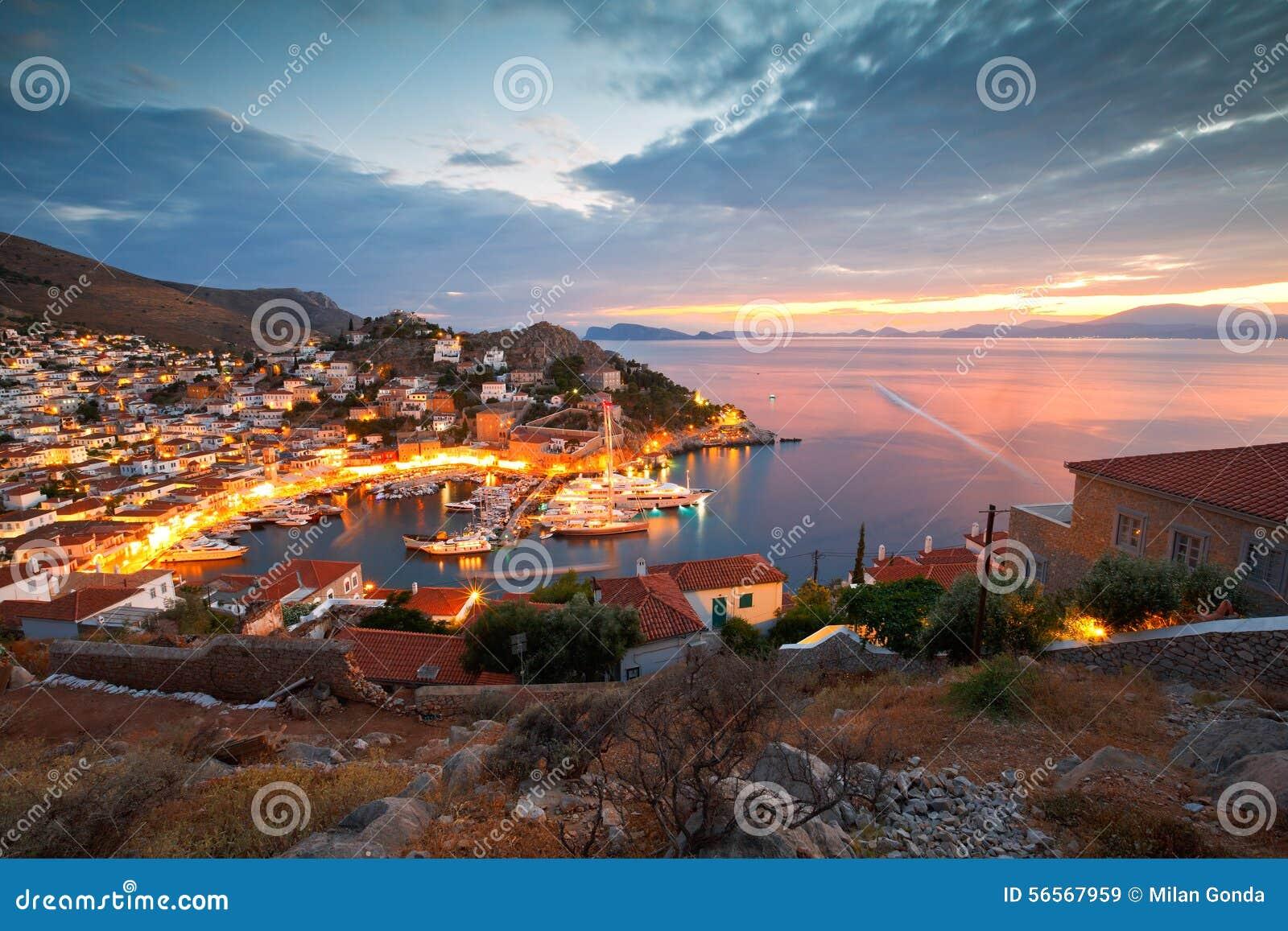 Download Νησί Hydra εκδοτική στοκ εικόνα. εικόνα από πελοπόννησος - 56567959