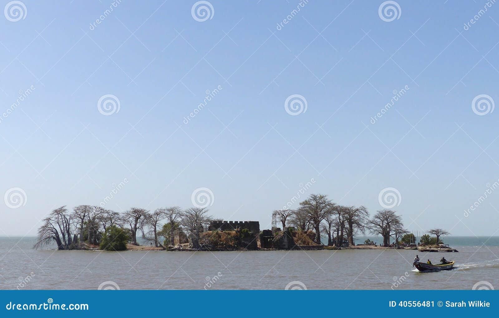 Νησί Kinteh Kunta