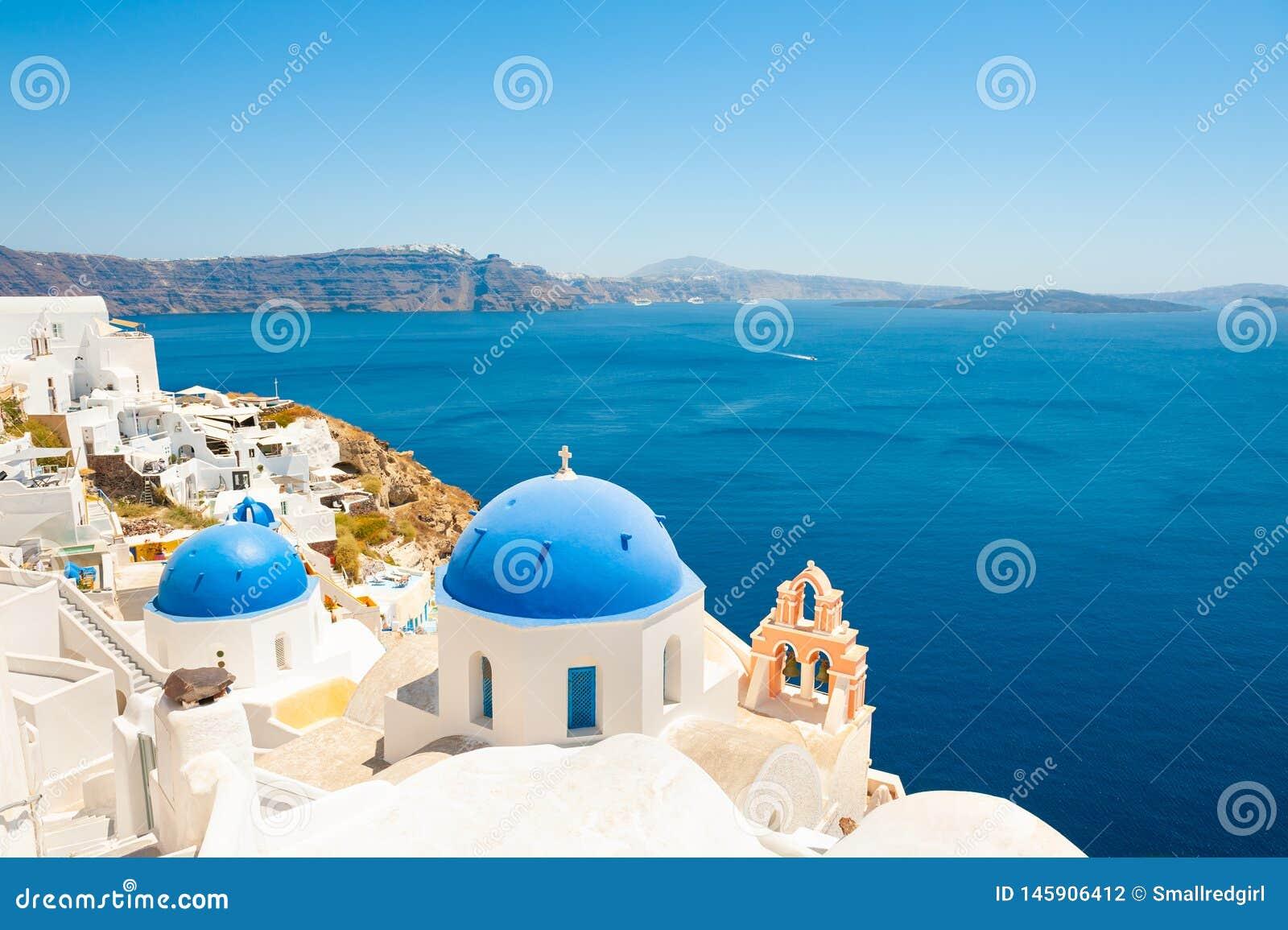 Νησί Santorini, Ελλάδα Διάσημος προορισμός ταξιδιού