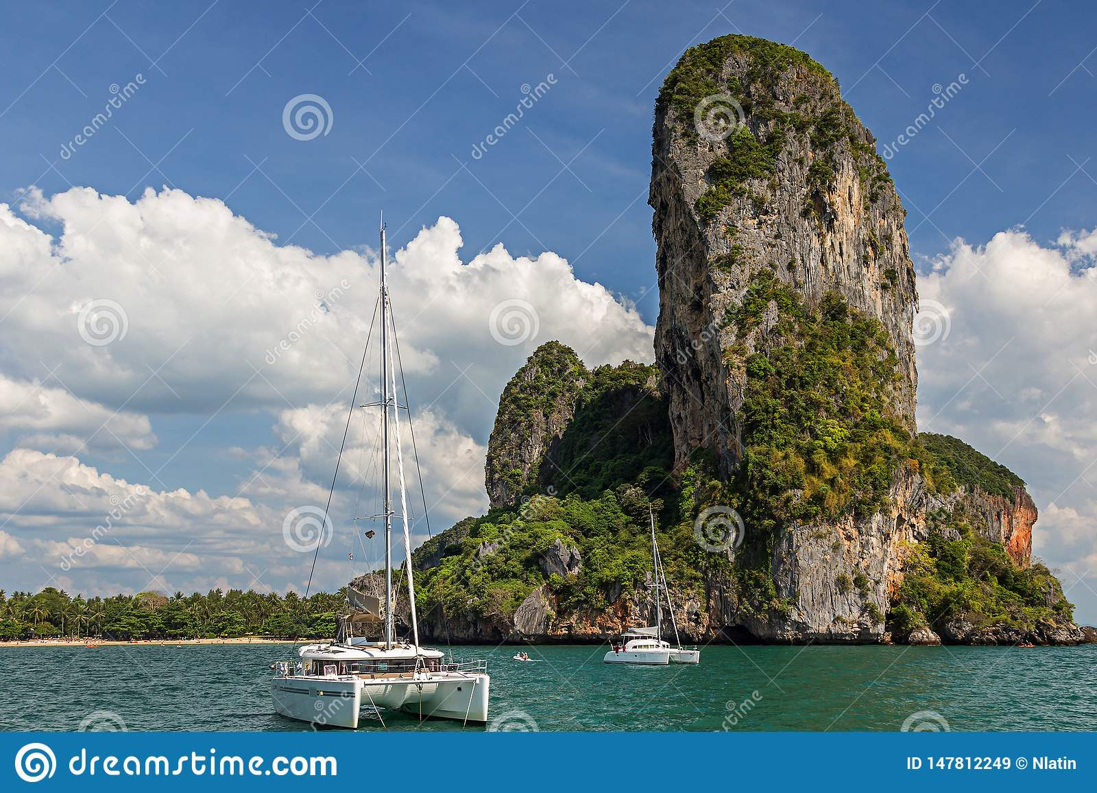 Νησιά στην επαρχία Krabi της Ταϊλάνδης