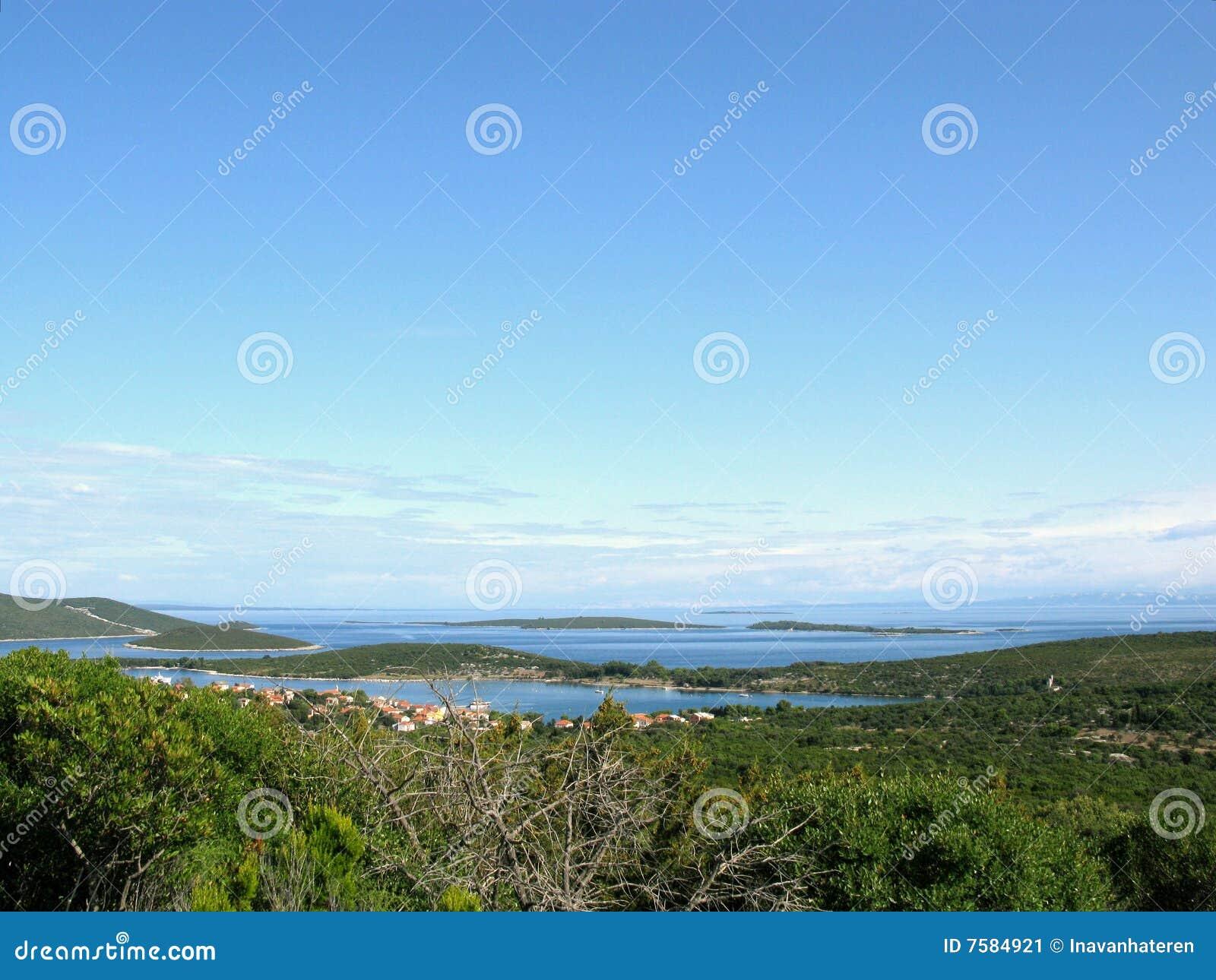νησιά της Κροατίας