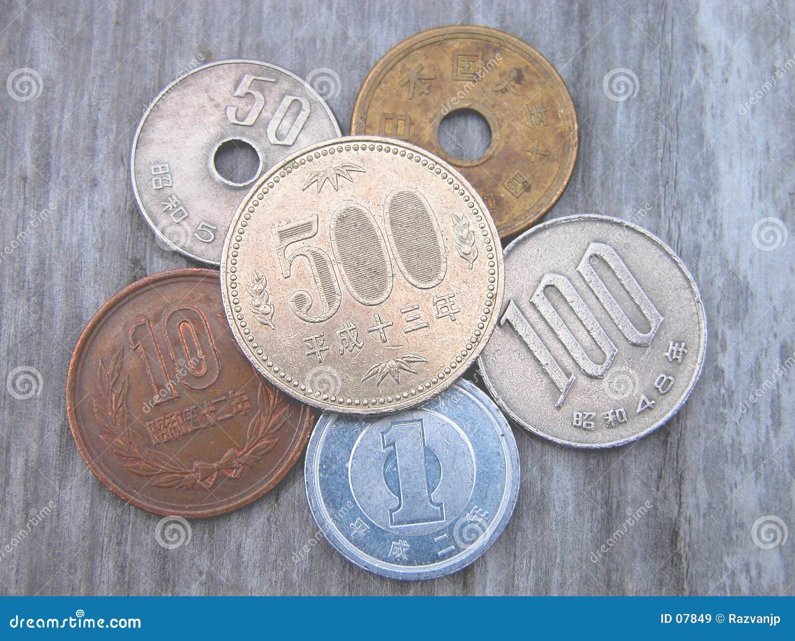 νομίσματα ιαπωνικά