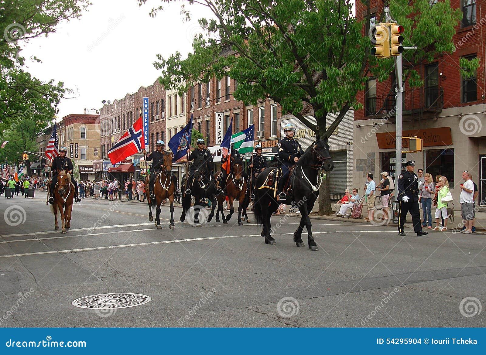 Νορβηγική παρέλαση εθνικής μέρας