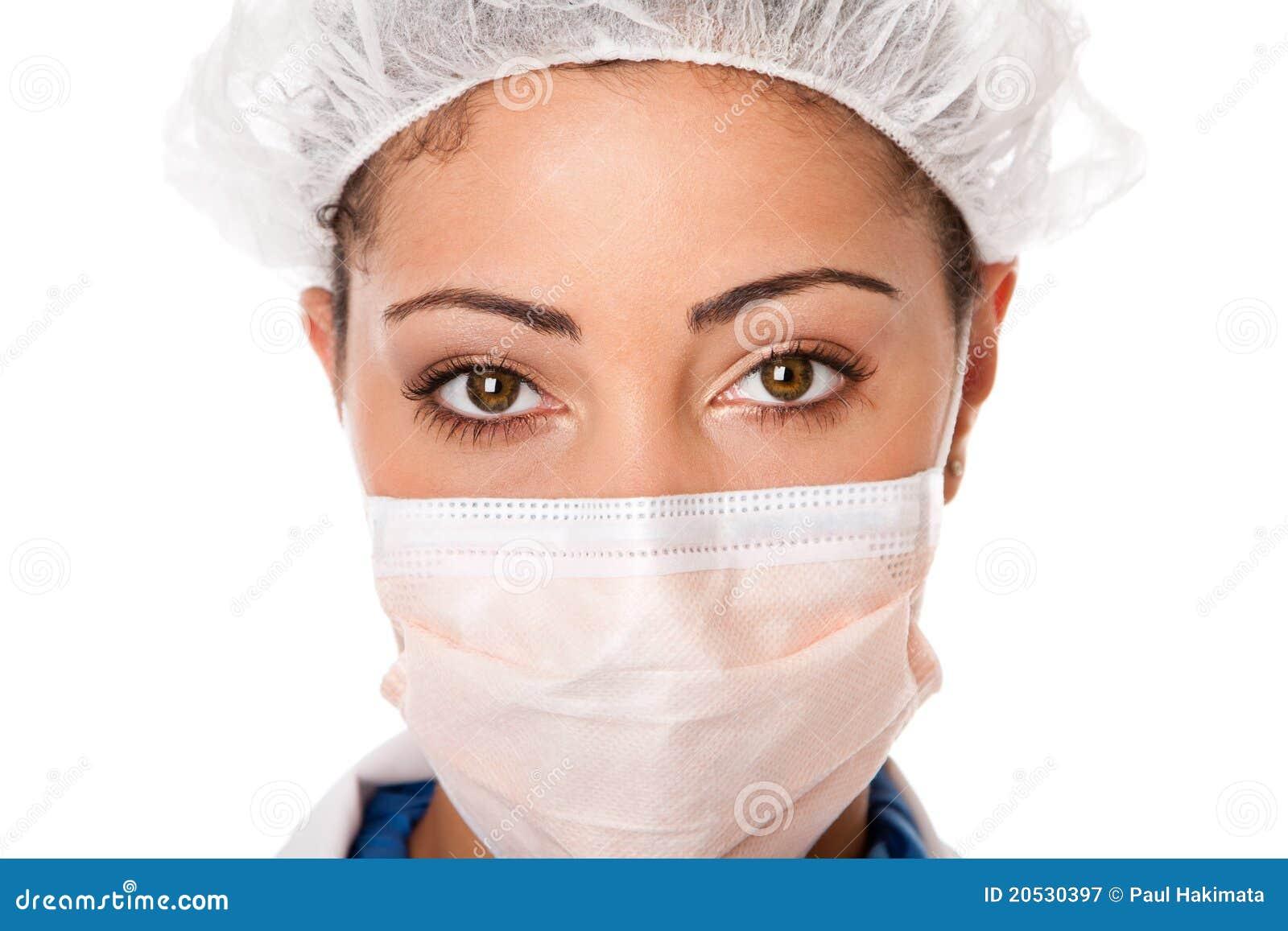 νοσοκόμα ματιών γιατρών
