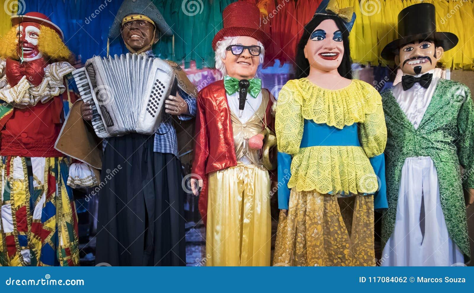 Ντεκόρ Olinda ` s καρναβάλι