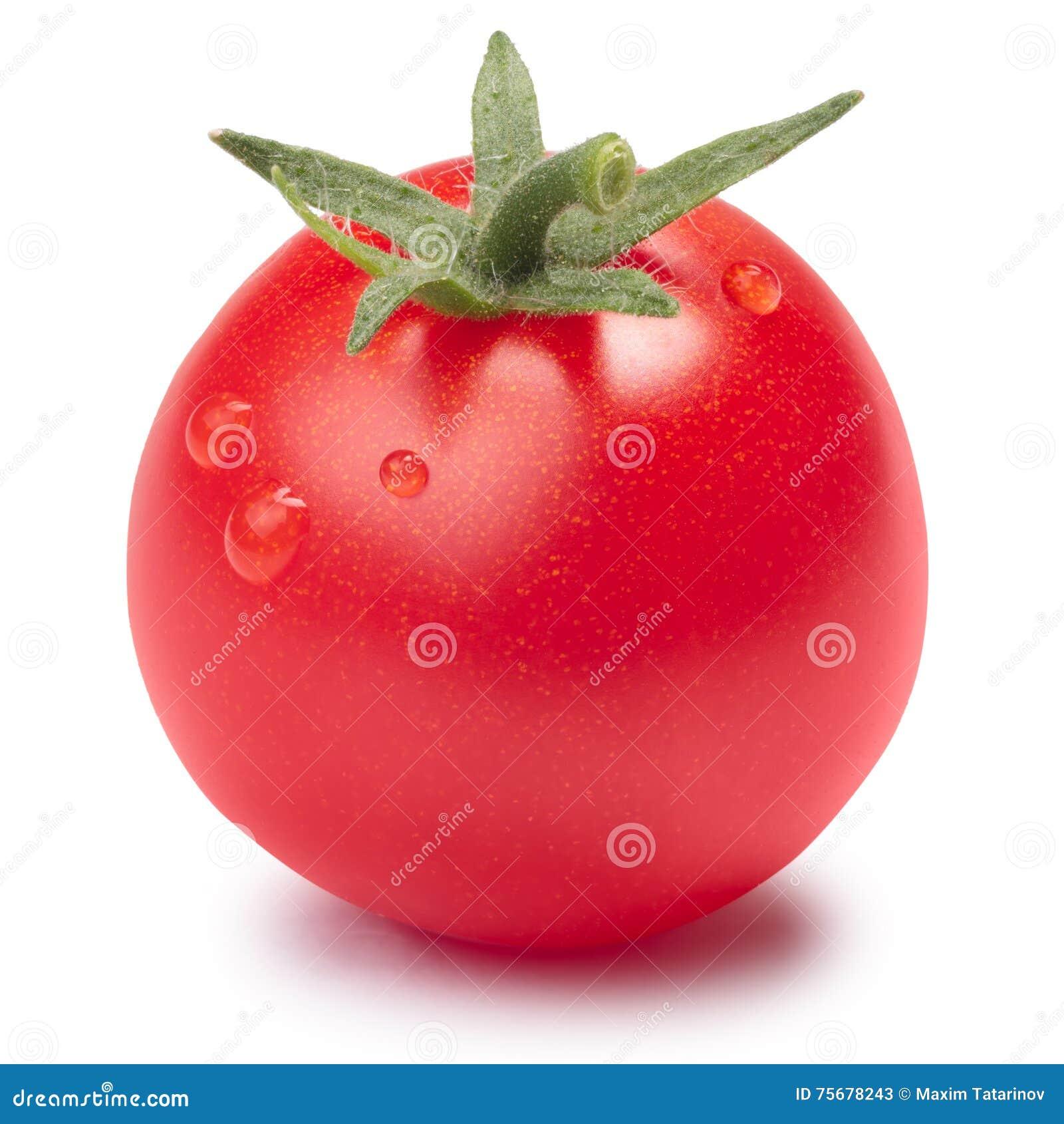 Ντομάτα κερασιών (ο μικροσκοπικός Tom) με sepal, πορείες
