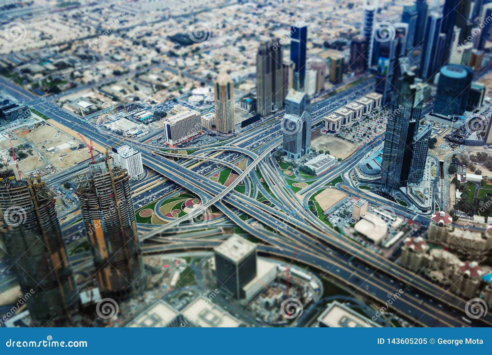 Ντουμπάι στη μικρογραφία