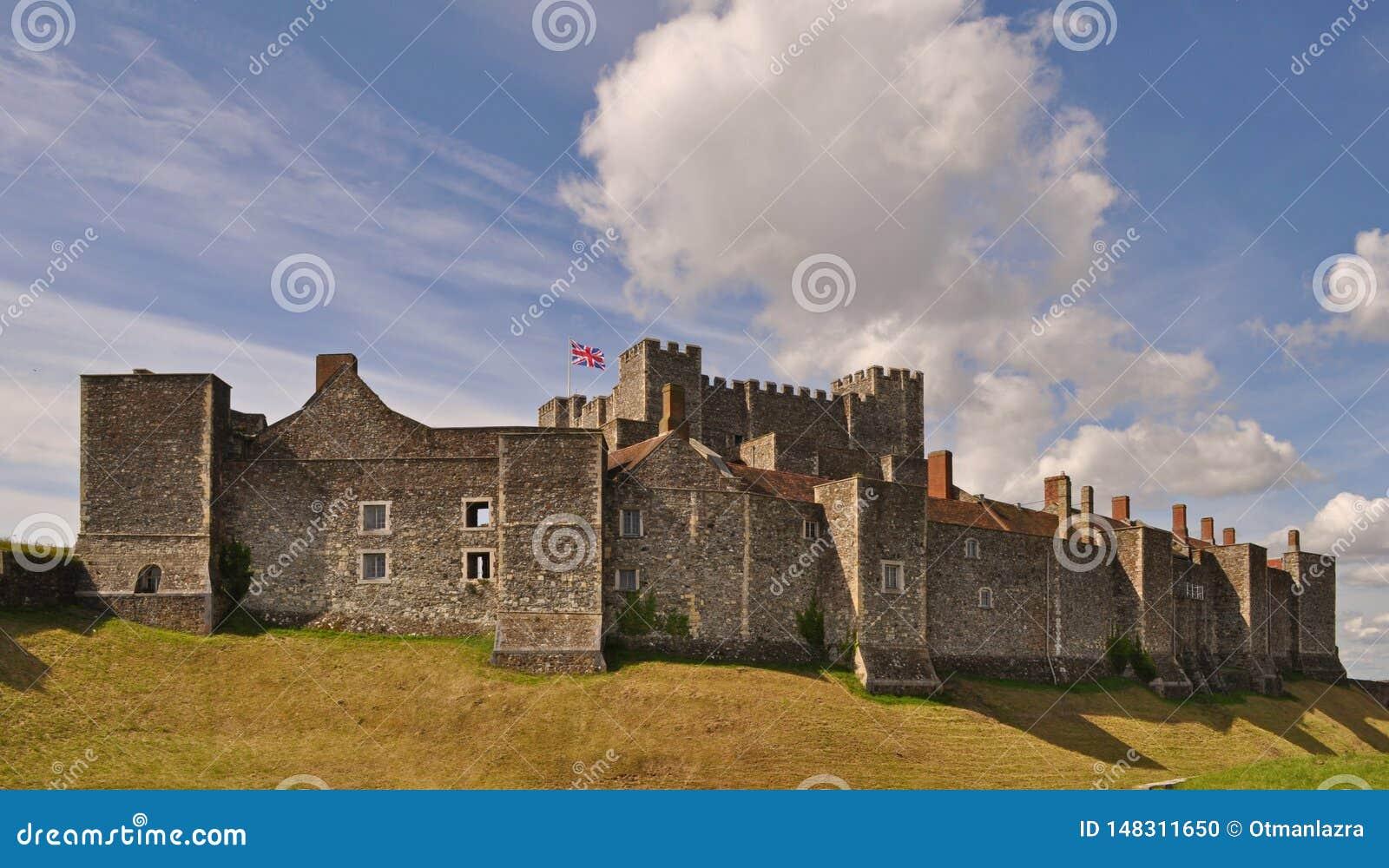 Ντόβερ Castle στη νοτιοανατολική Αγγλία