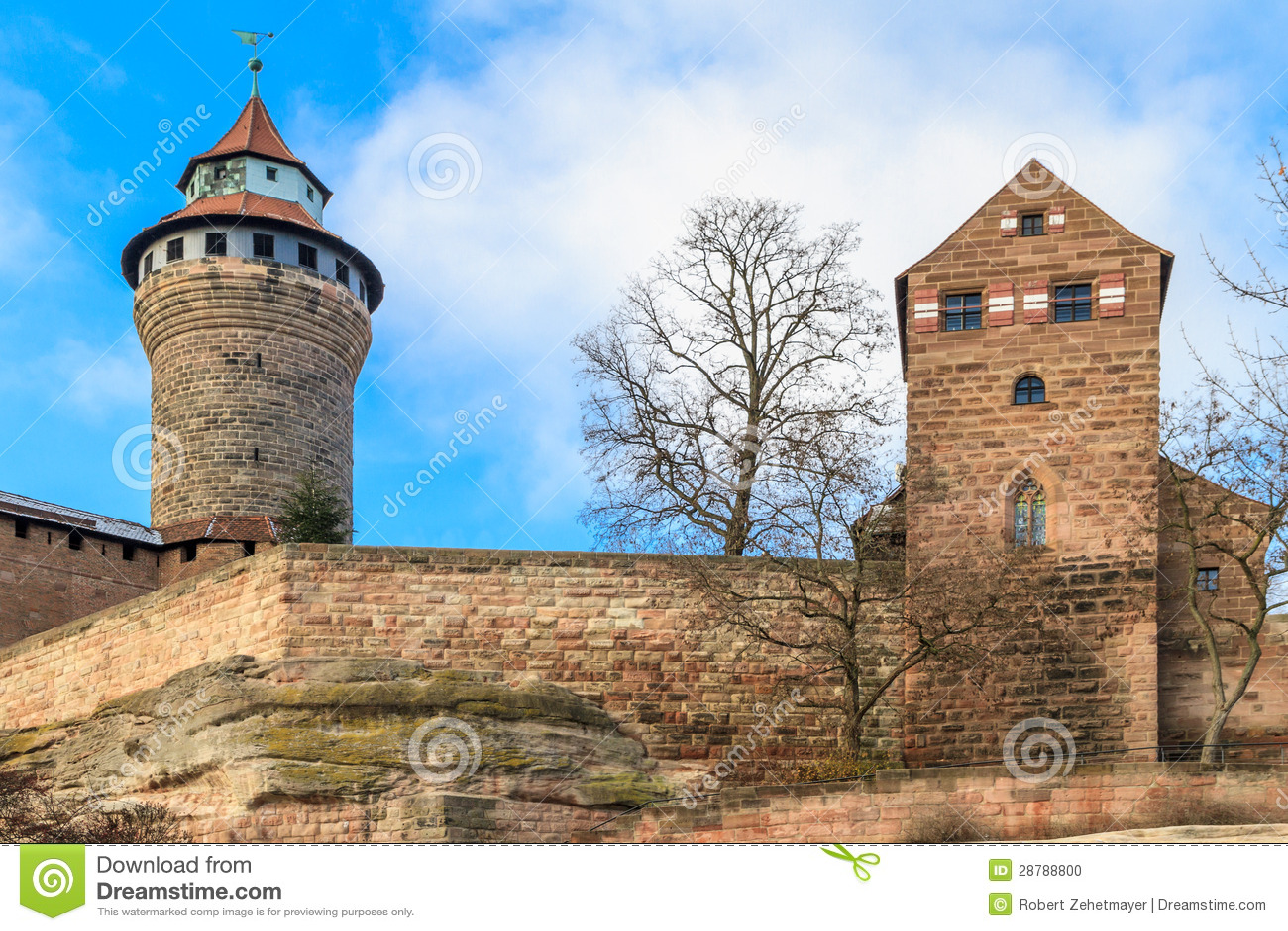 Νυρεμβέργη το αυτοκρατορικό Castle